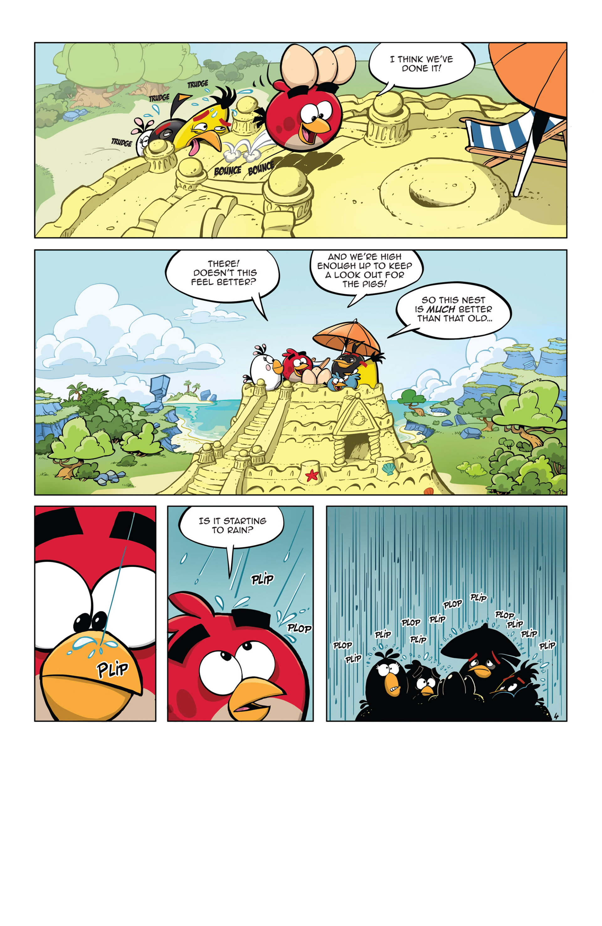 Read online Angry Birds Comics (2014) comic -  Issue #5 - 16