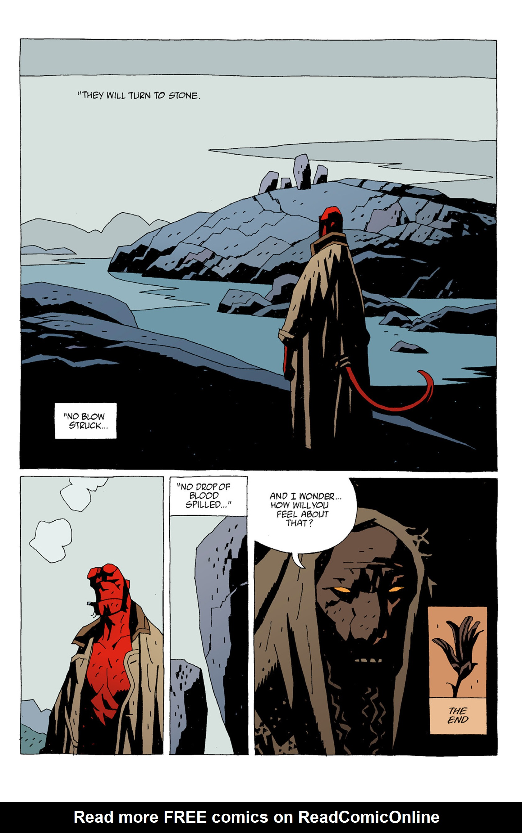 Read online Hellboy: The Troll Witch and Others comic -  Issue # TPB - 35