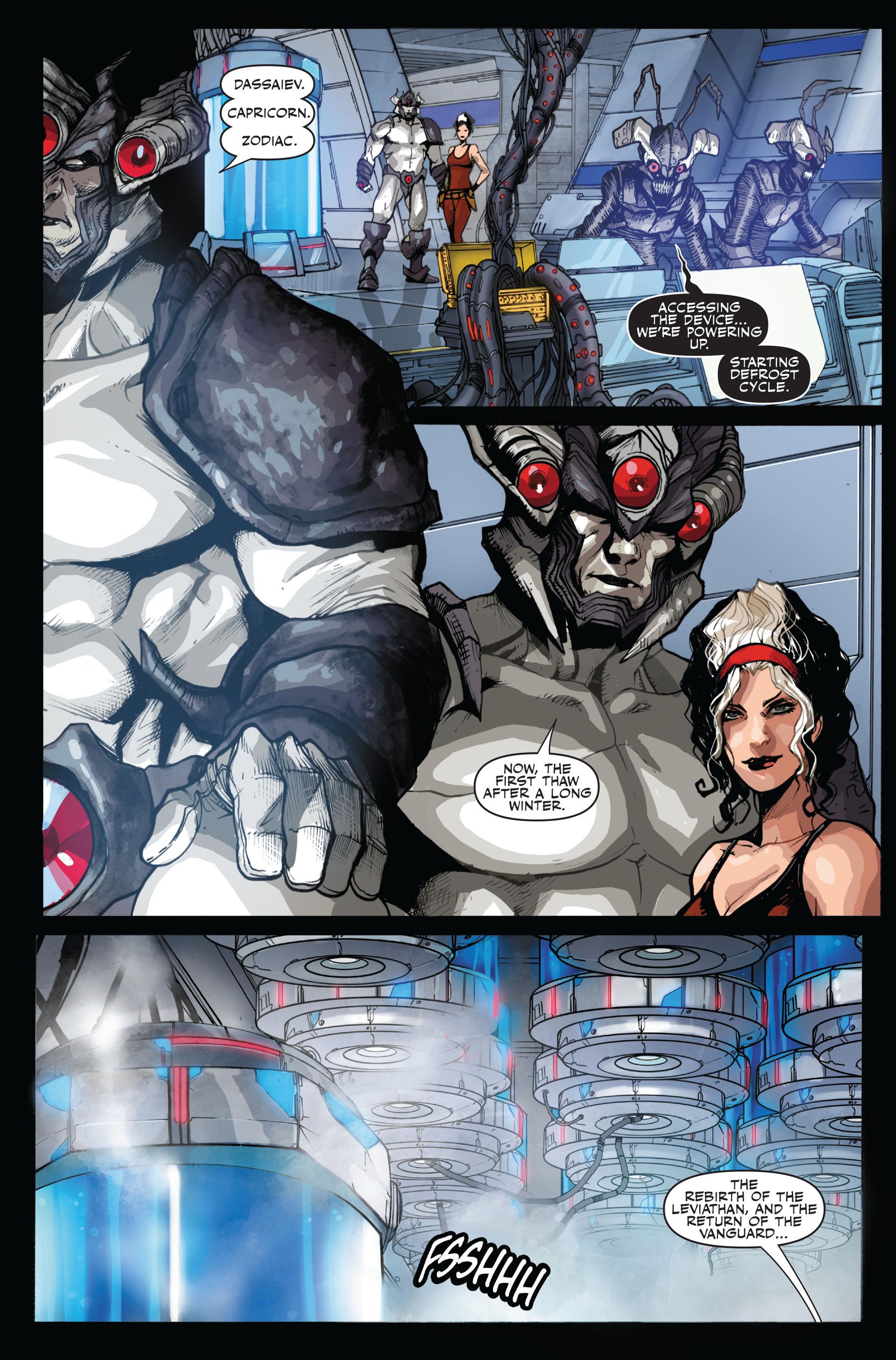 Read online Secret Warriors comic -  Issue #14 - 22
