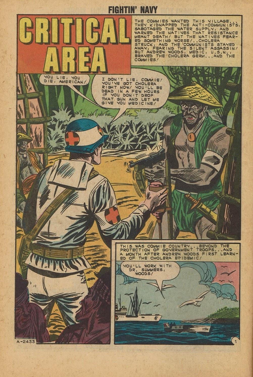 Read online Fightin' Navy comic -  Issue #112 - 10