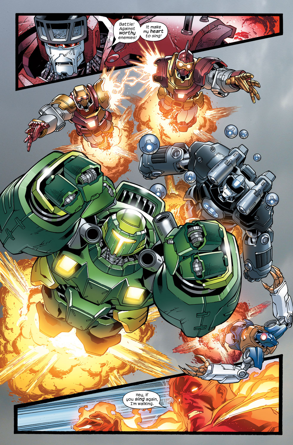 Read online Ultimate Fantastic Four (2004) comic -  Issue #48 - 20
