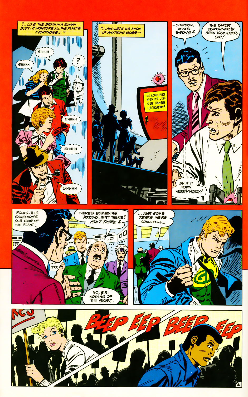 Read online Adventures of the Outsiders comic -  Issue #39 - 22