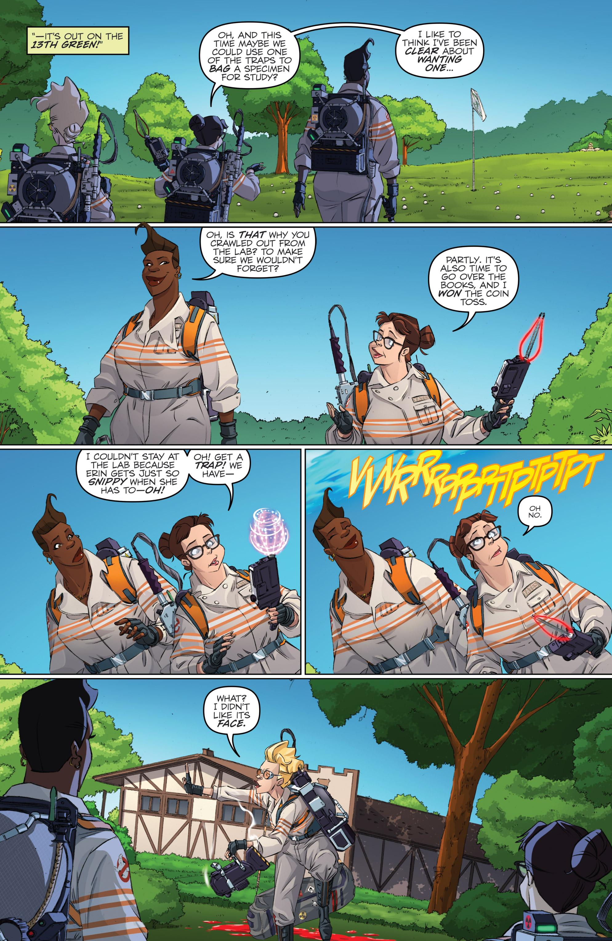 Read online Ghostbusters 101 comic -  Issue #2 - 8