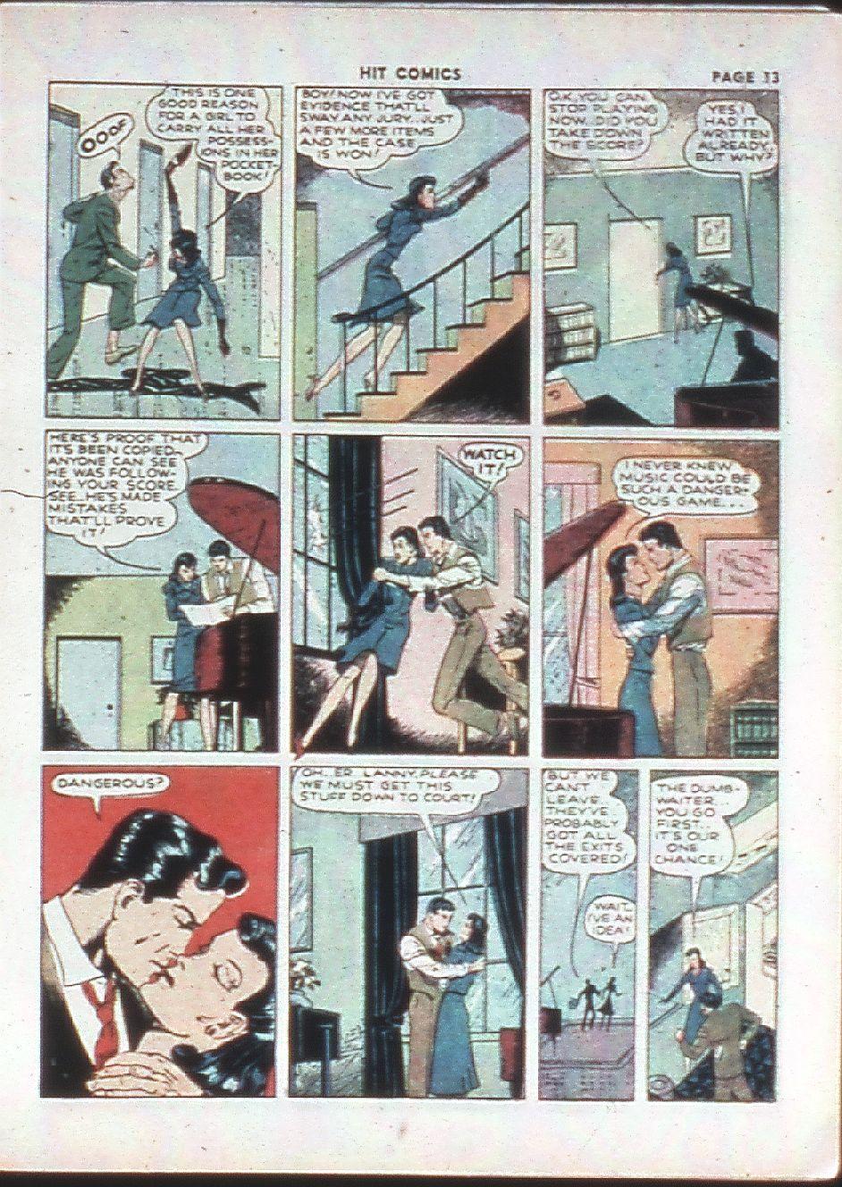 Read online Hit Comics comic -  Issue #10 - 15