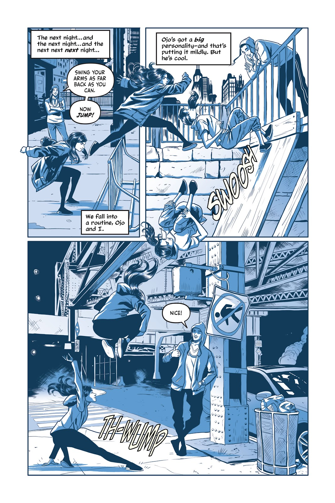 Read online Under the Moon: A Catwoman Tale comic -  Issue # TPB (Part 1) - 88