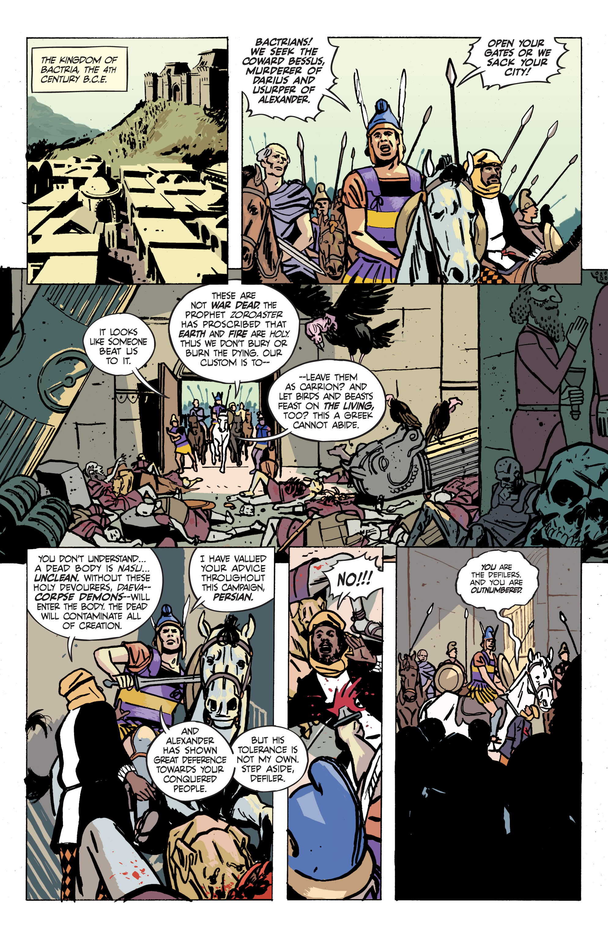 Read online Graveyard of Empires comic -  Issue # TPB - 93