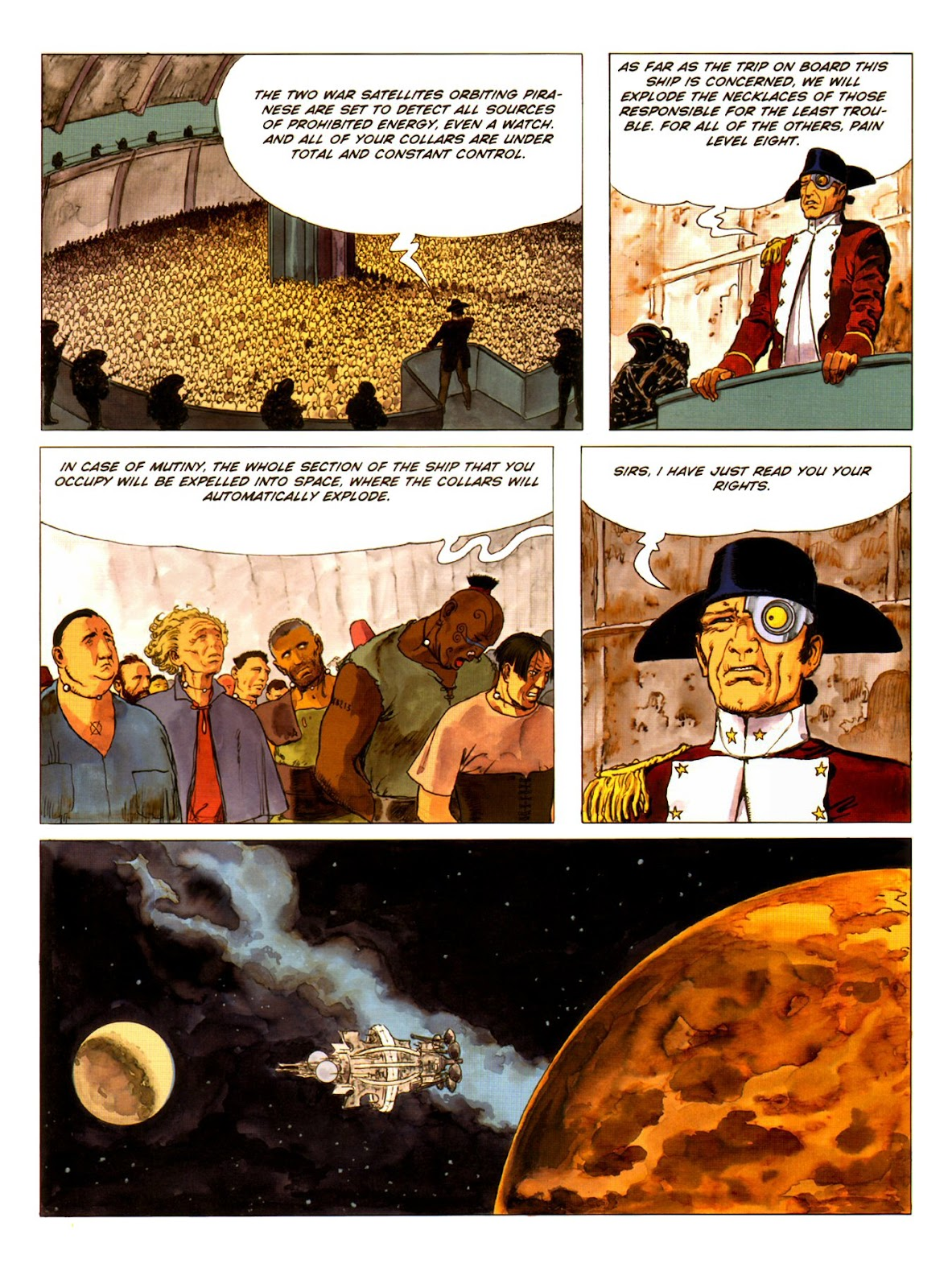 Read online Piranese The Prison Planet comic -  Issue # Full - 13