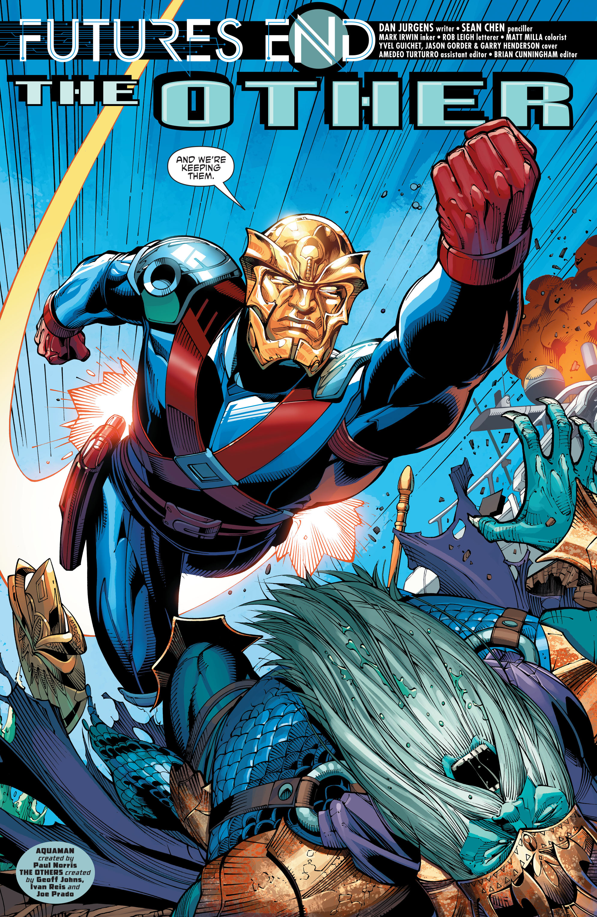 Read online Aquaman and the Others: Futures End comic -  Issue #Aquaman and the Others: Futures End Full - 4