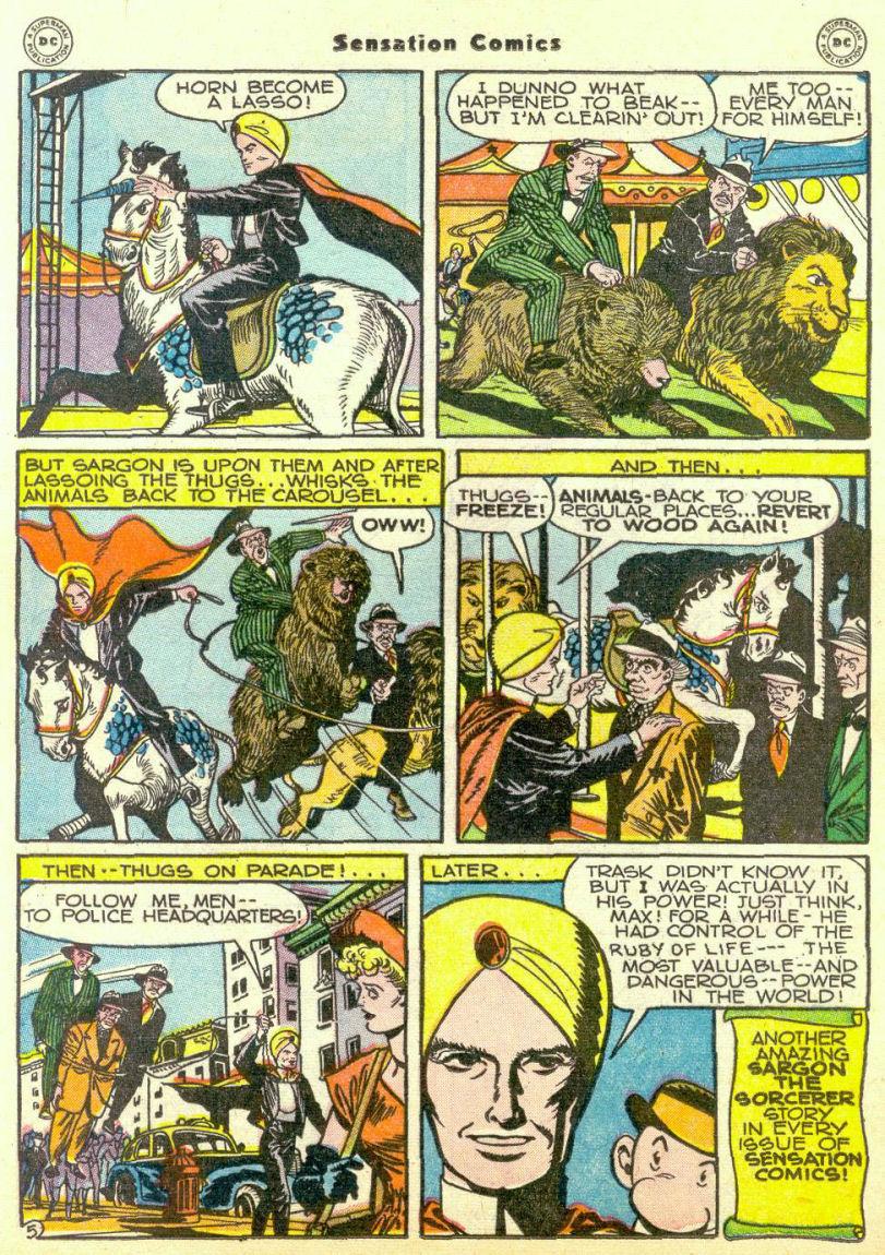 Read online Sensation (Mystery) Comics comic -  Issue #67 - 36