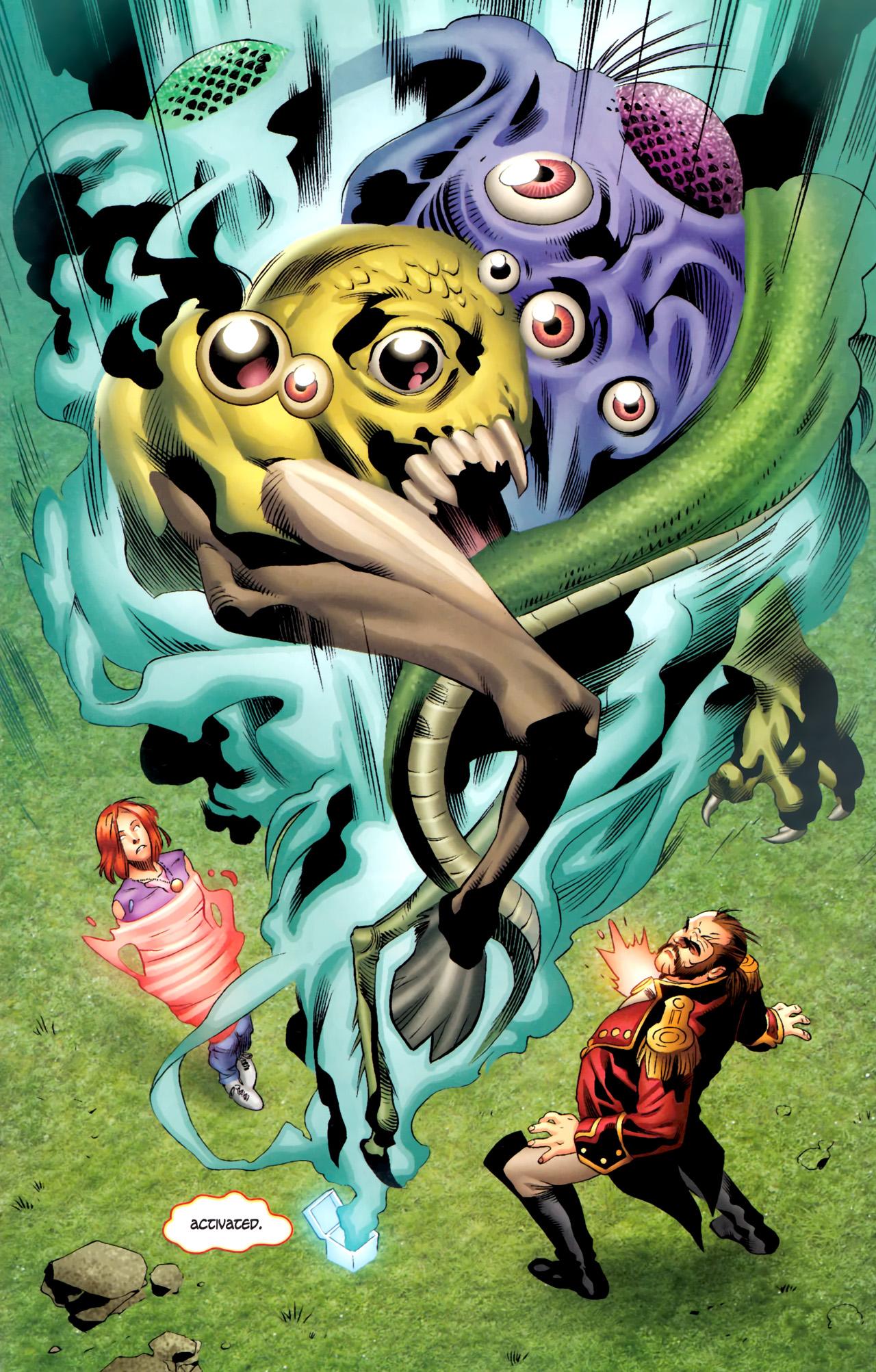 Read online Sigil (2011) comic -  Issue #4 - 14