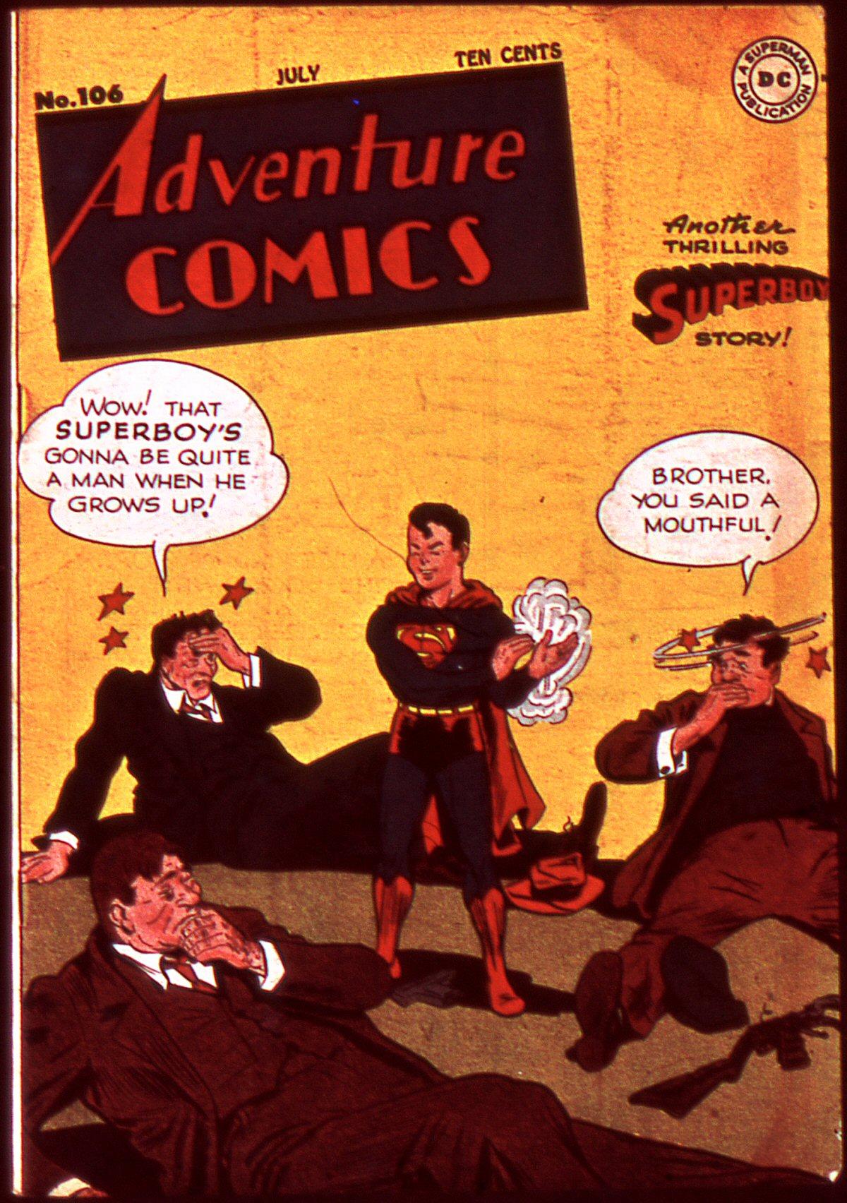 Read online Adventure Comics (1938) comic -  Issue #106 - 1