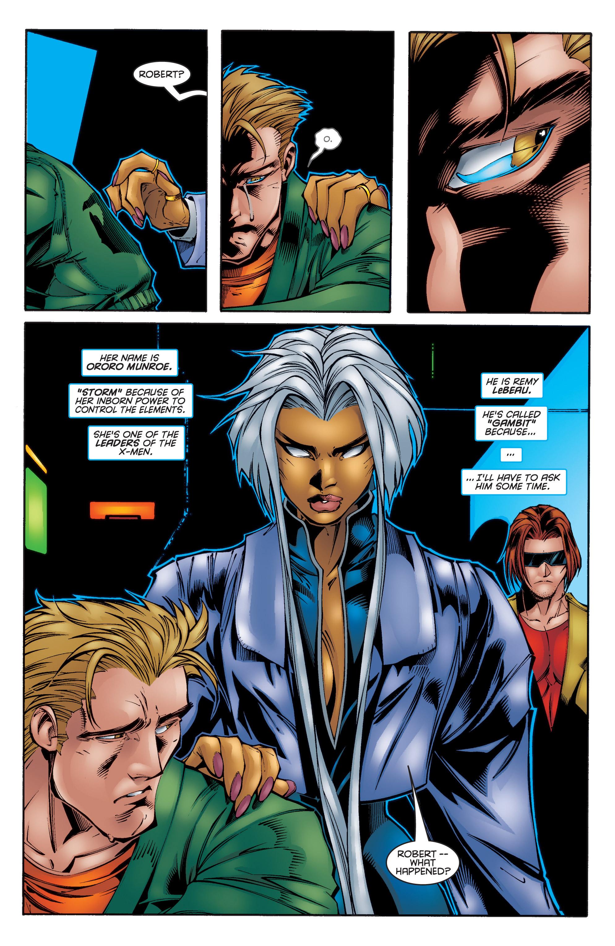 Read online Uncanny X-Men (1963) comic -  Issue #340 - 3