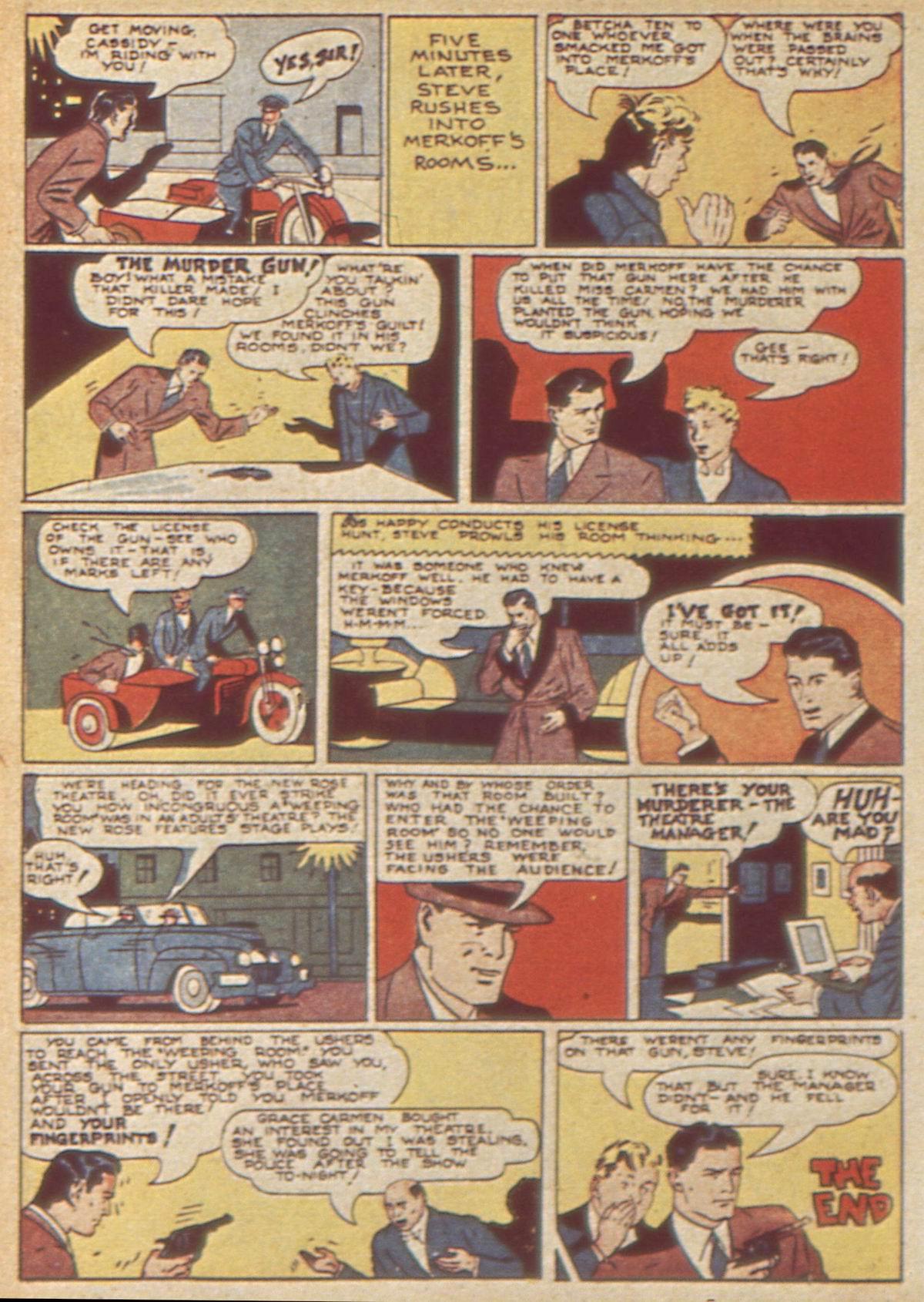 Read online Detective Comics (1937) comic -  Issue #49 - 56