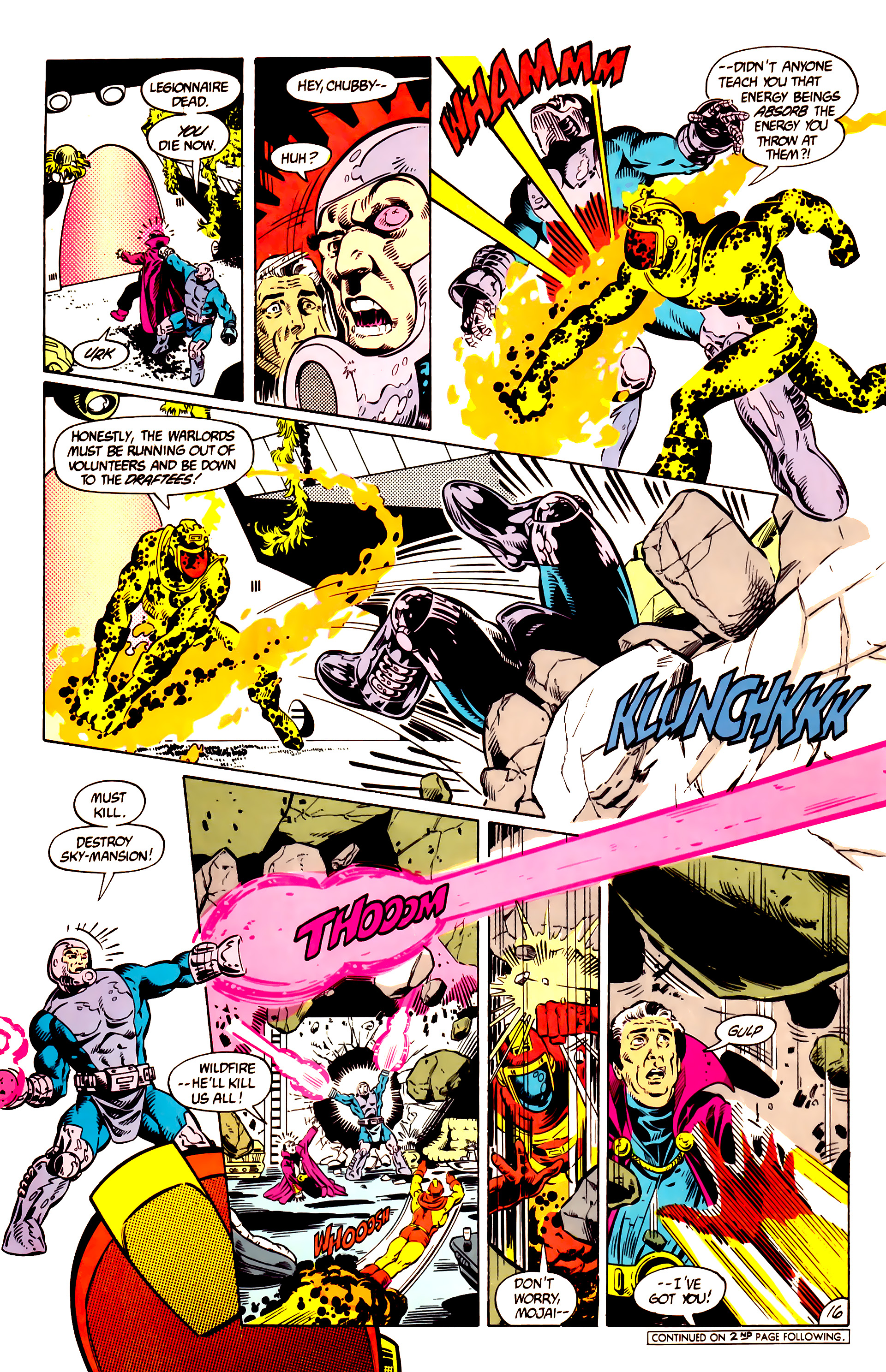 Legion of Super-Heroes (1984) 10 Page 17