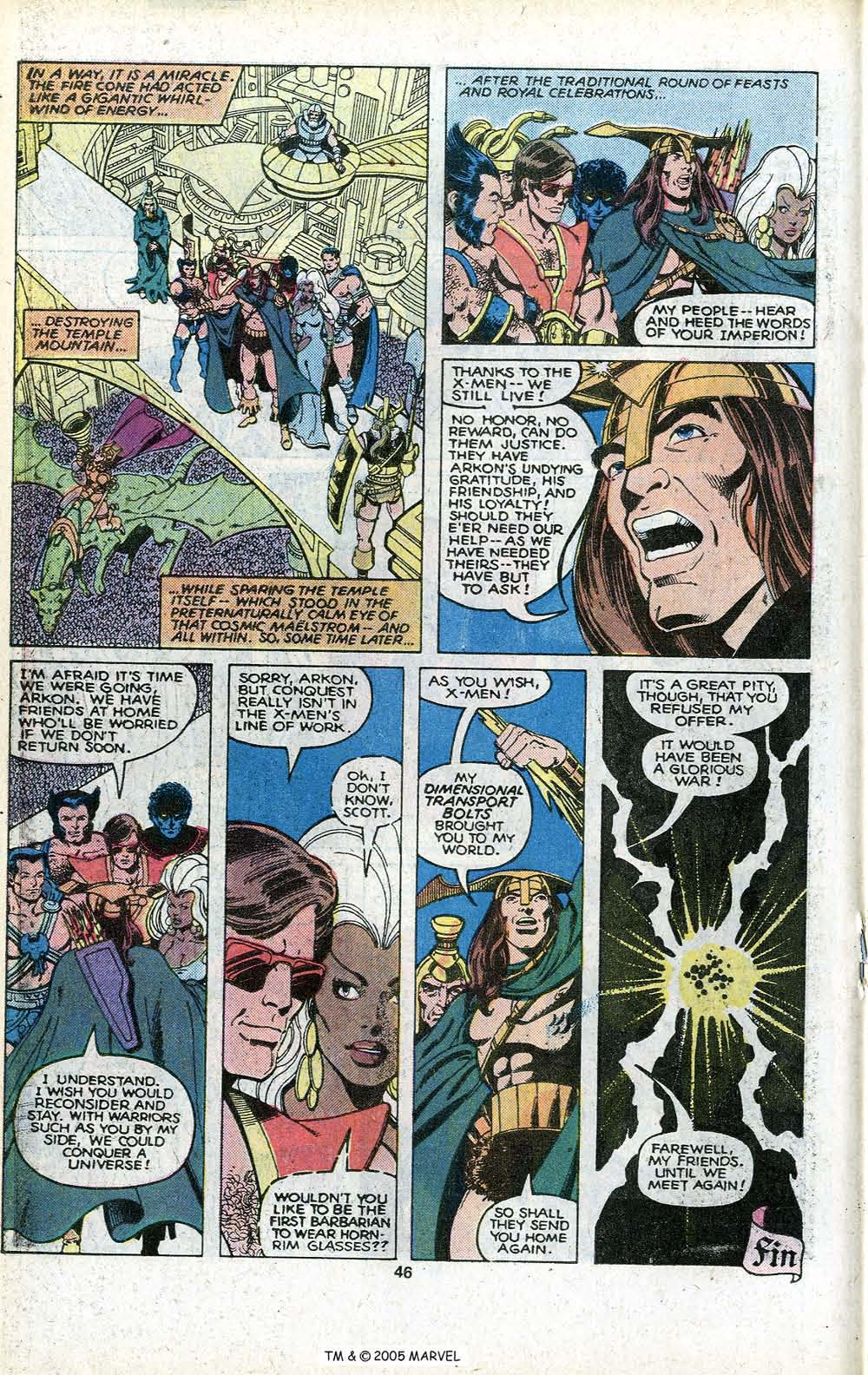 Read online Uncanny X-Men (1963) comic -  Issue # _Annual 3 - 48
