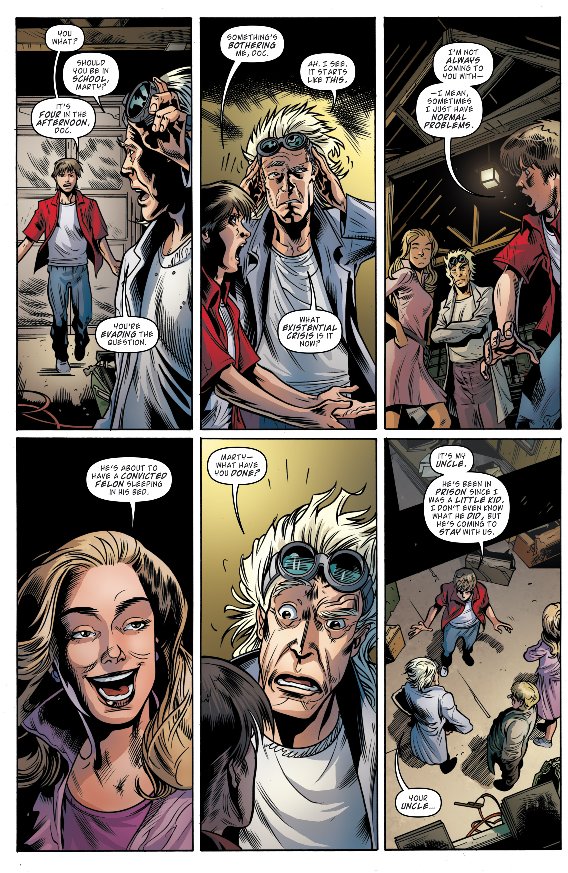 Read online Back to the Future (2015) comic -  Issue #19 - 17