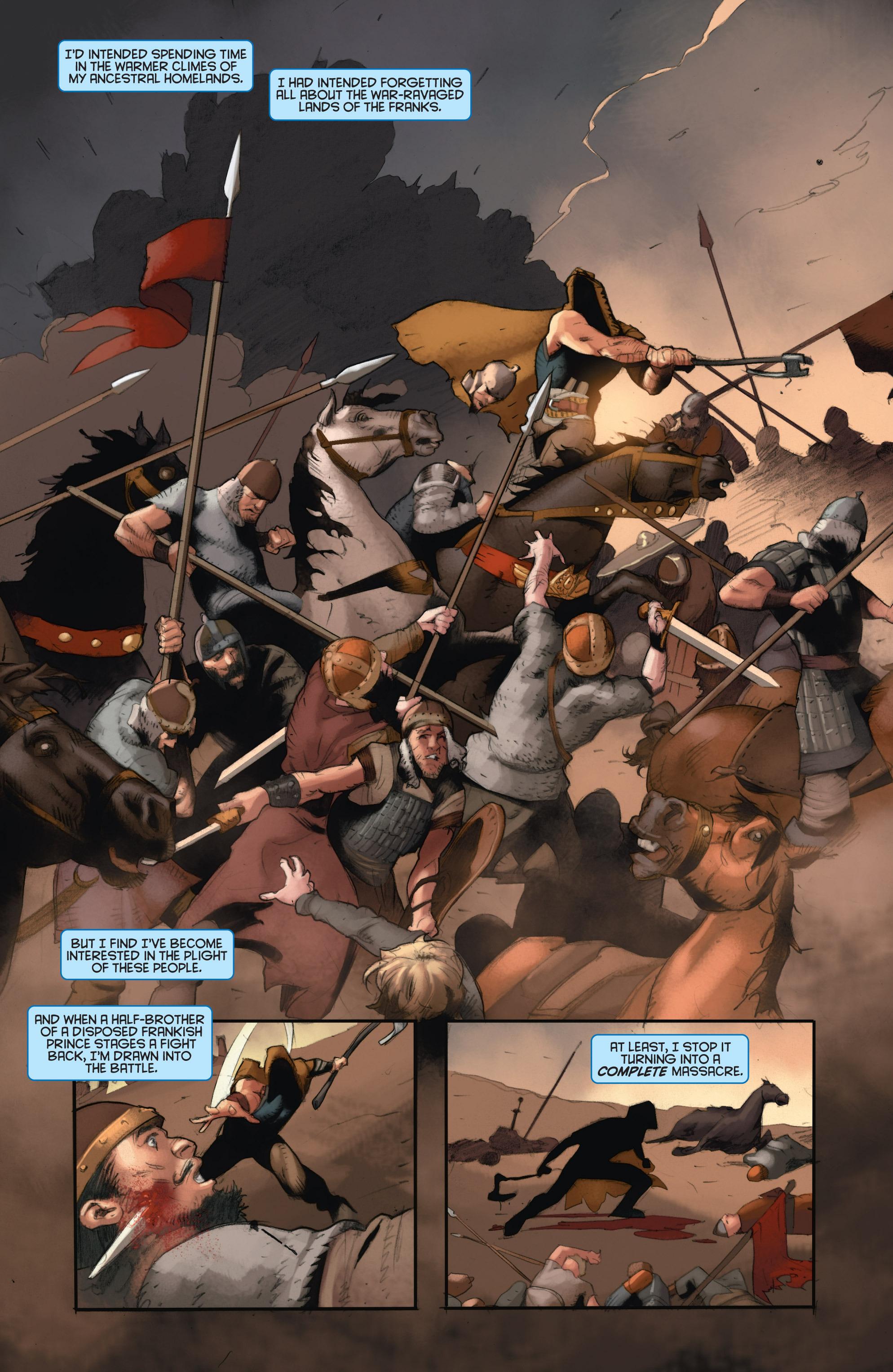 Read online Eternal Warrior: Days of Steel comic -  Issue #2 - 9