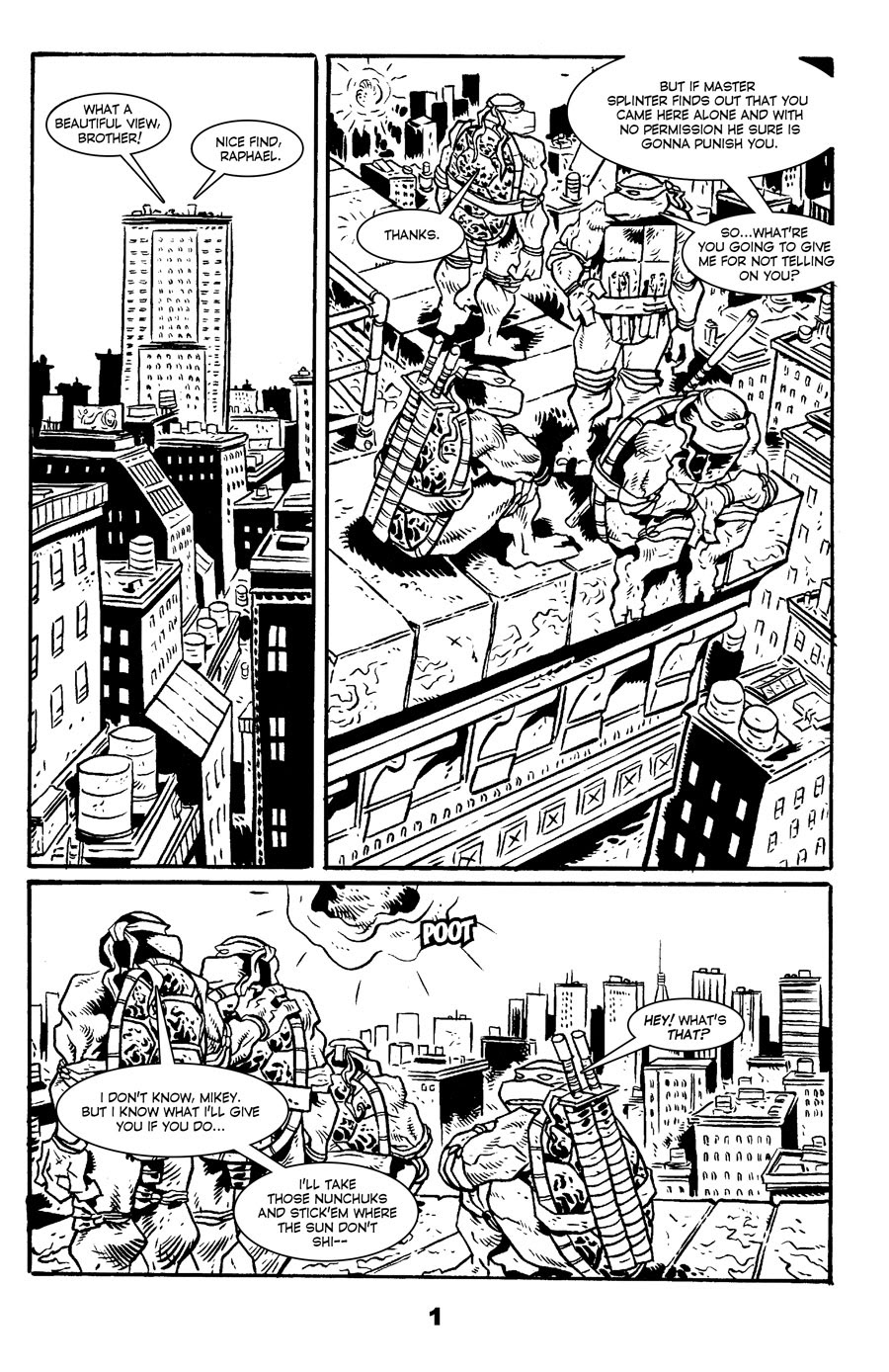 Read online Tales of the TMNT comic -  Issue #71 - 5