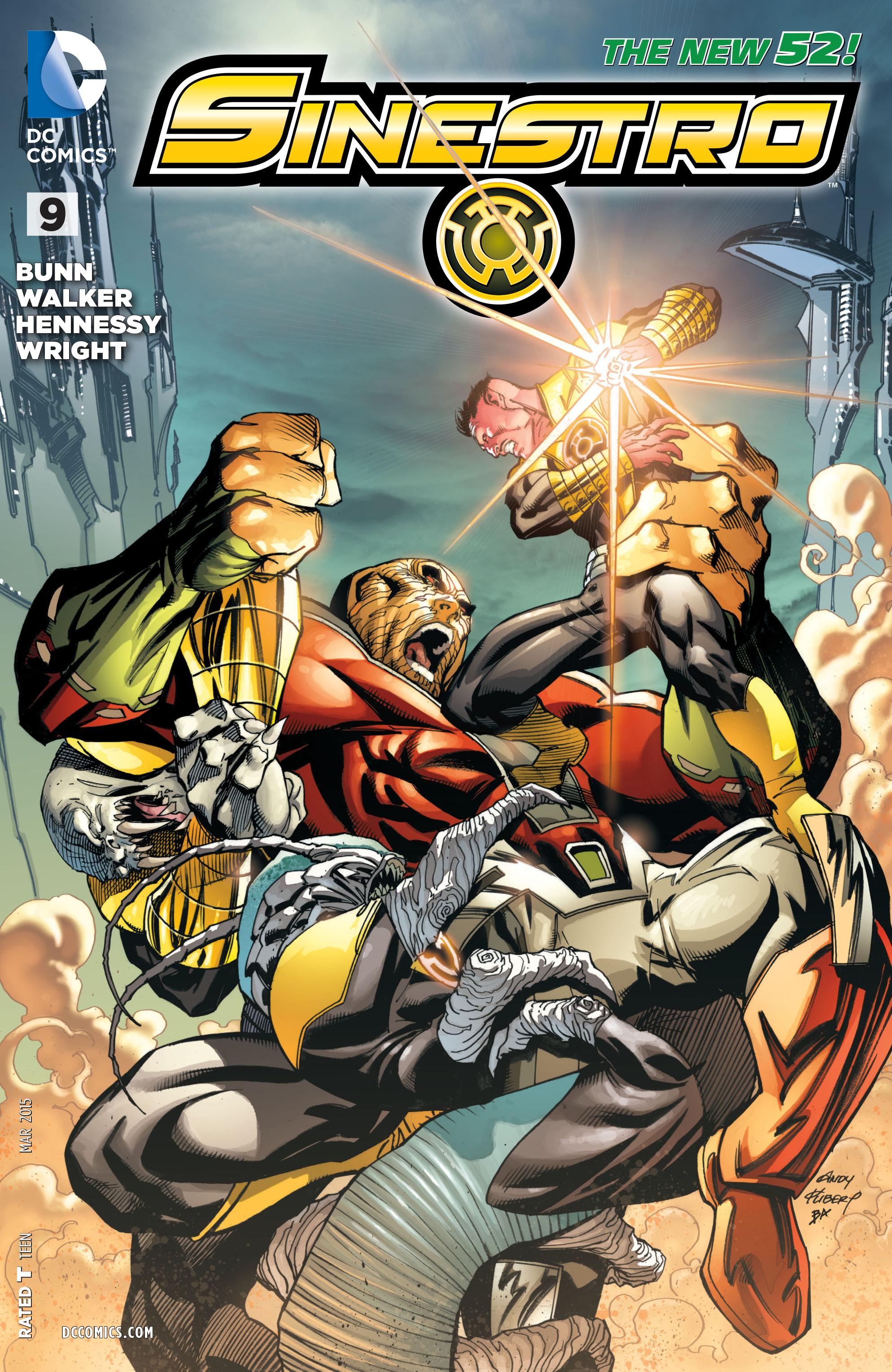 Sinestro issue 9 - Page 1
