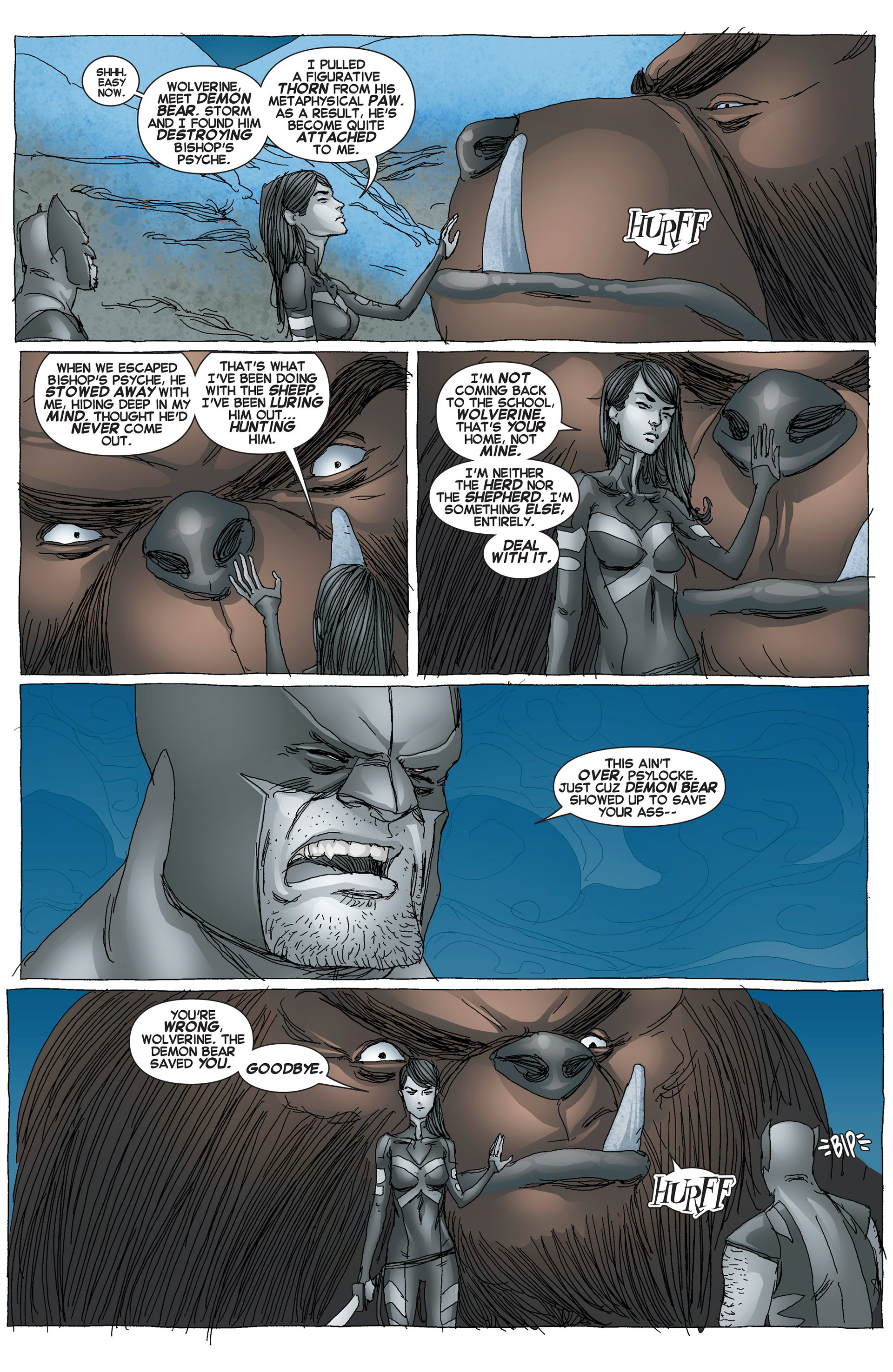 Read online Uncanny X-Force (2013) comic -  Issue #6 - 19