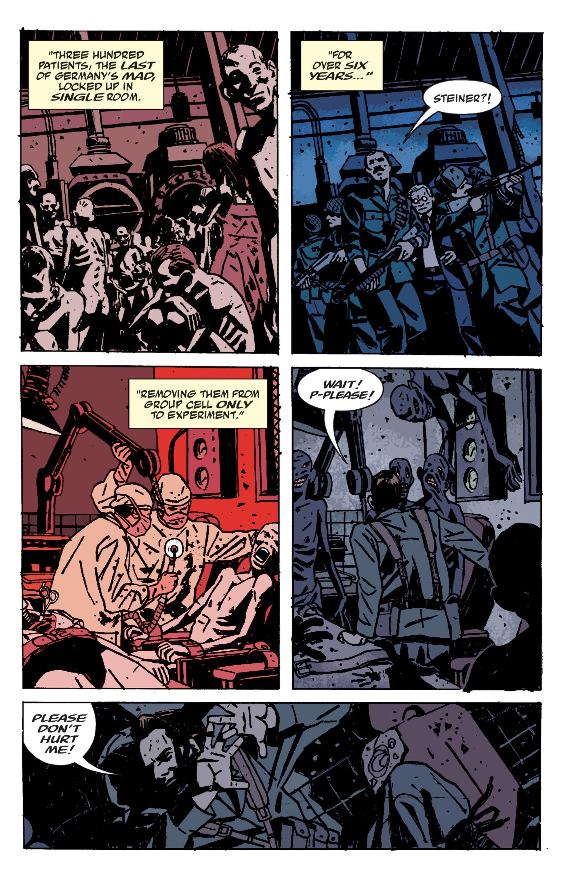 Read online B.P.R.D. (2003) comic -  Issue # TPB 9 - 71