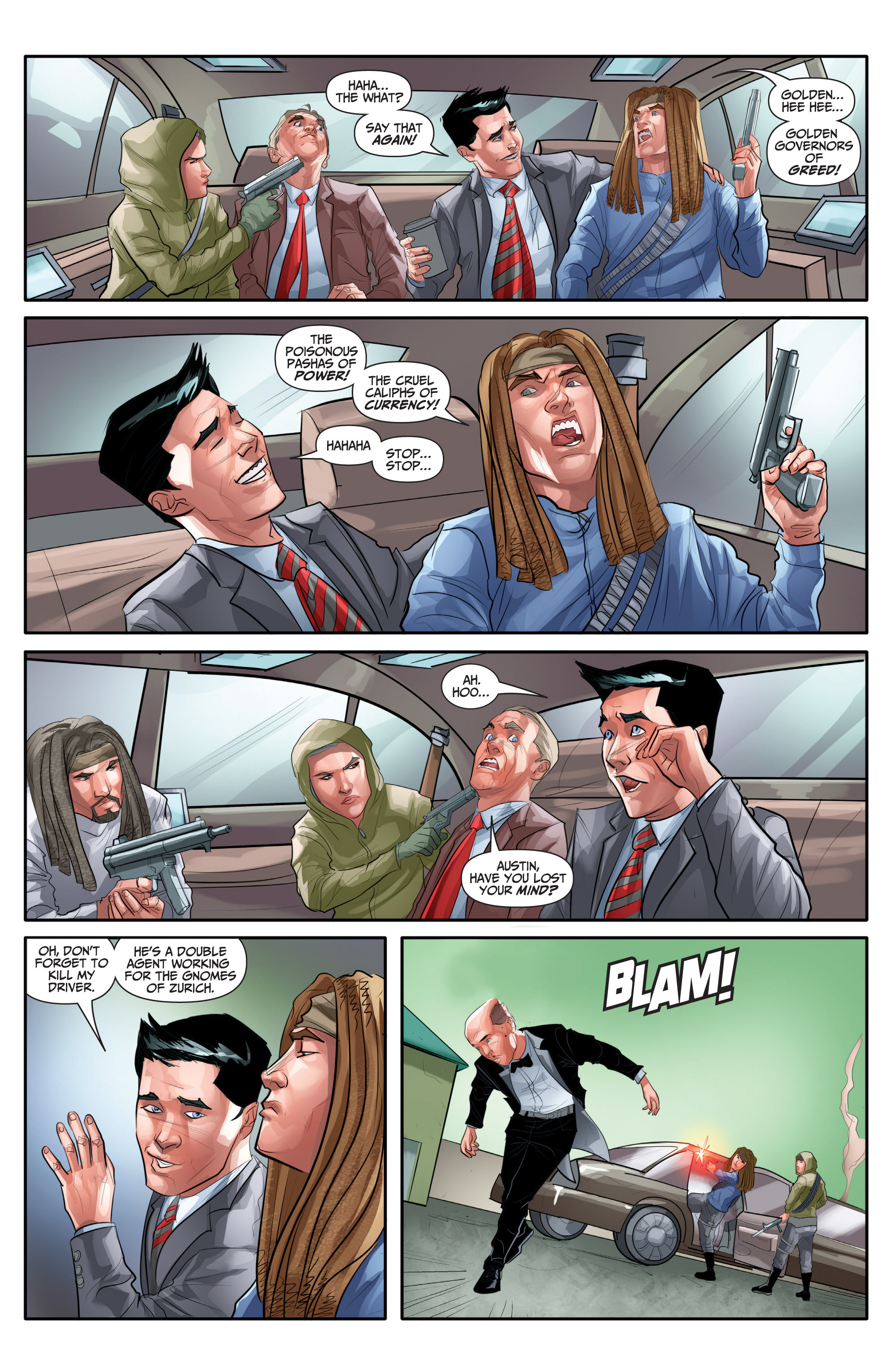 Read online Archer and Armstrong comic -  Issue #Archer and Armstrong _TPB 7 - 69