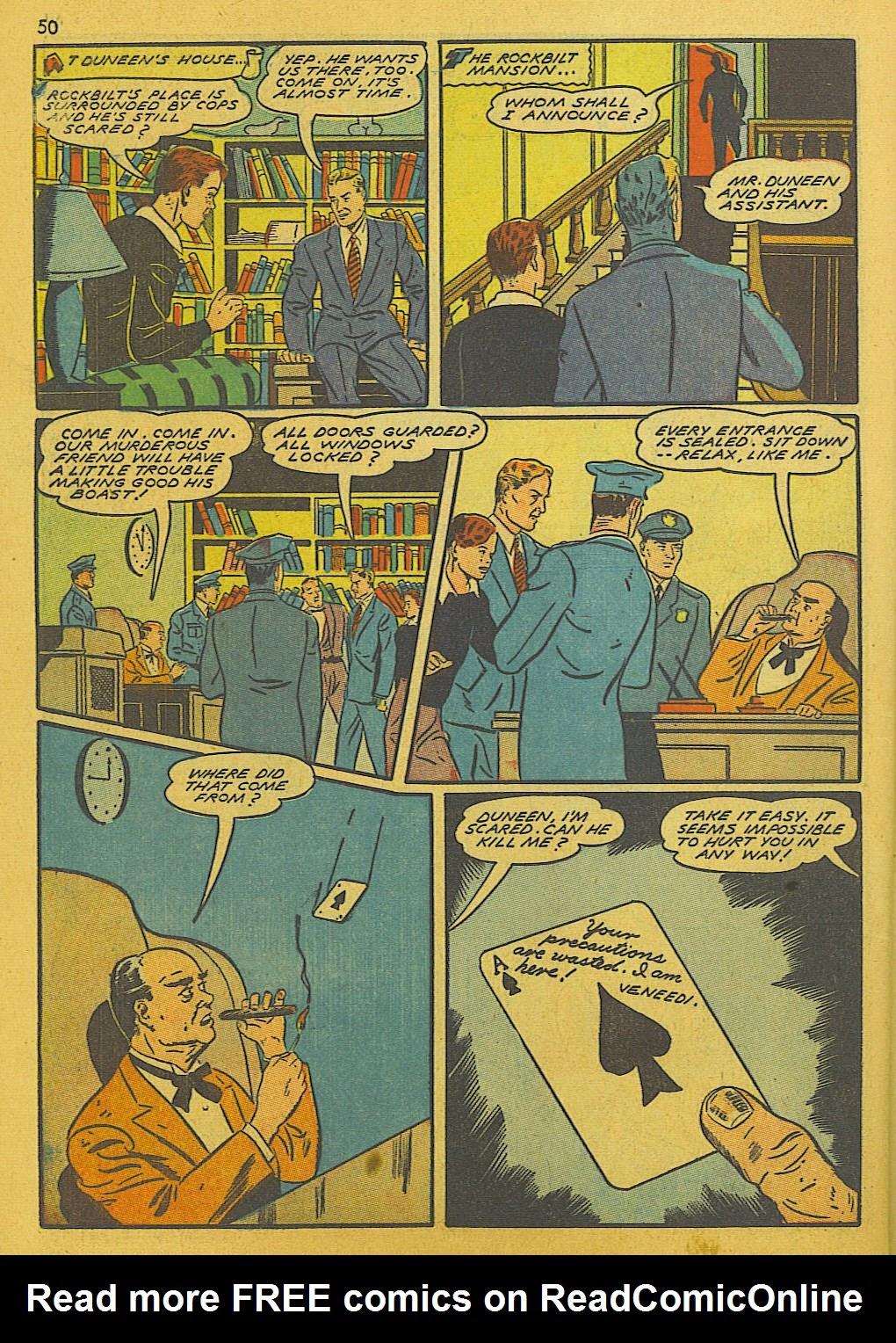 Read online Super-Magician Comics comic -  Issue #10 - 50