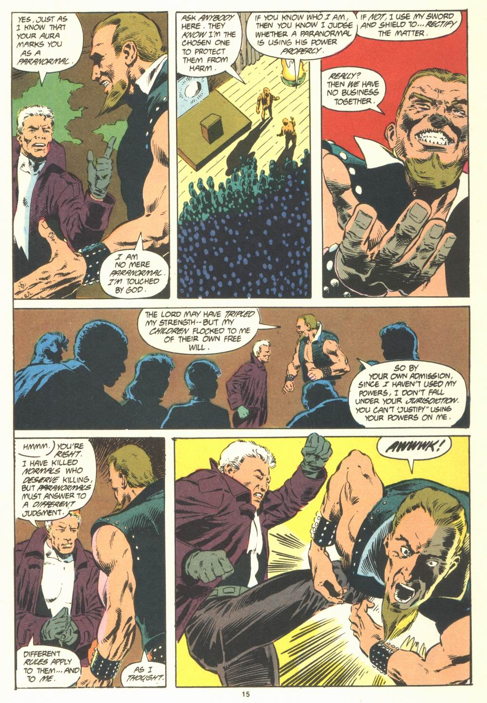 Read online Justice (1986) comic -  Issue #19 - 17