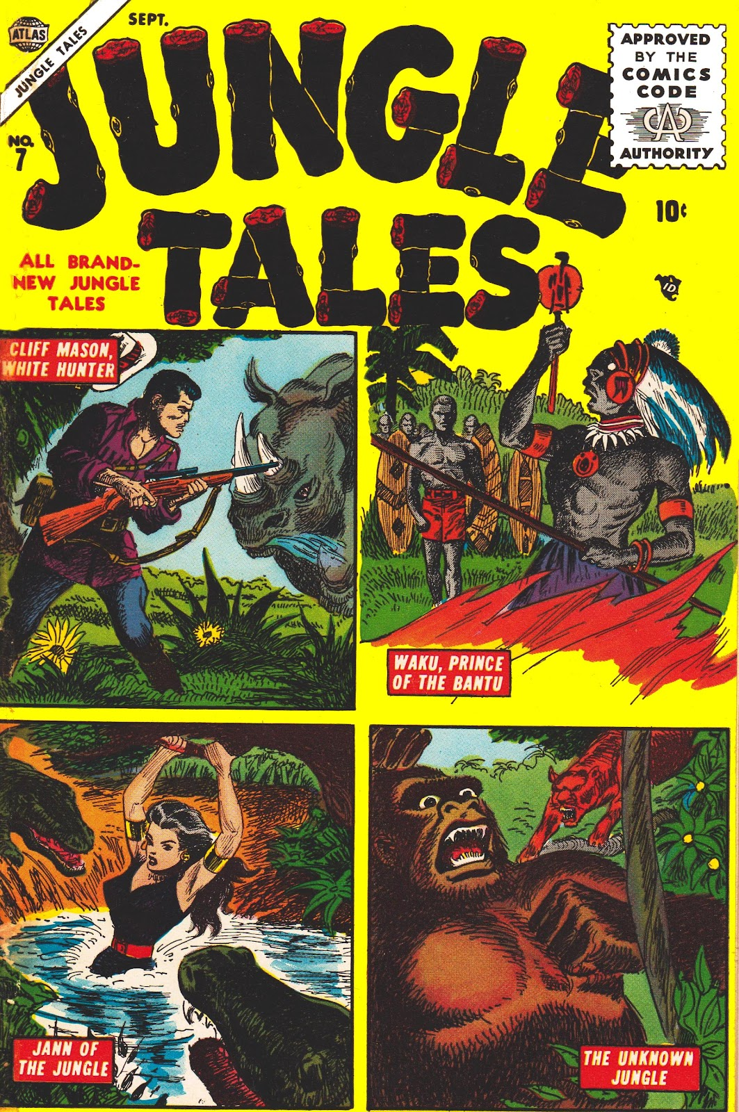 Jungle Tales issue 7 - Page 1
