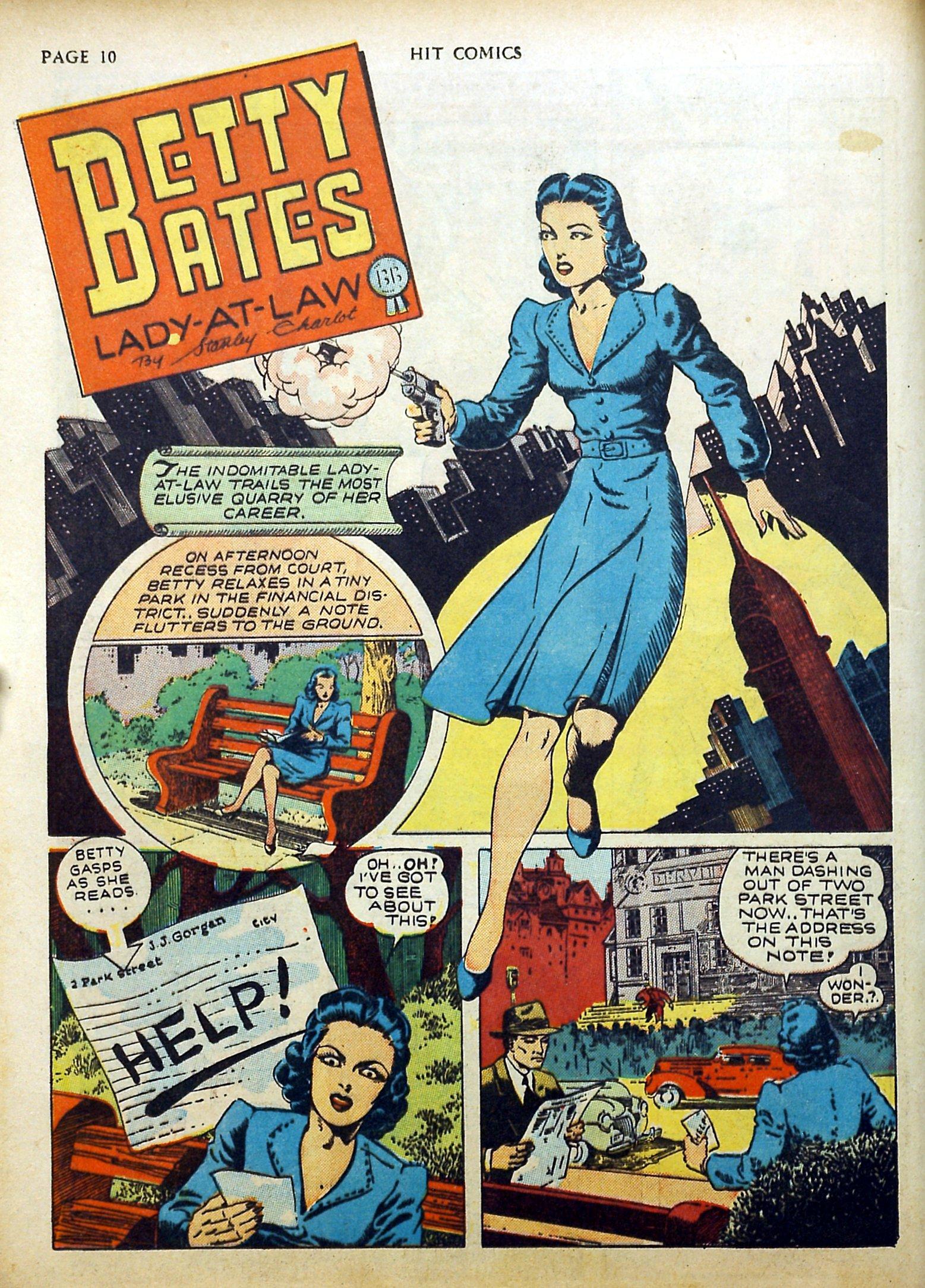 Read online Hit Comics comic -  Issue #17 - 12