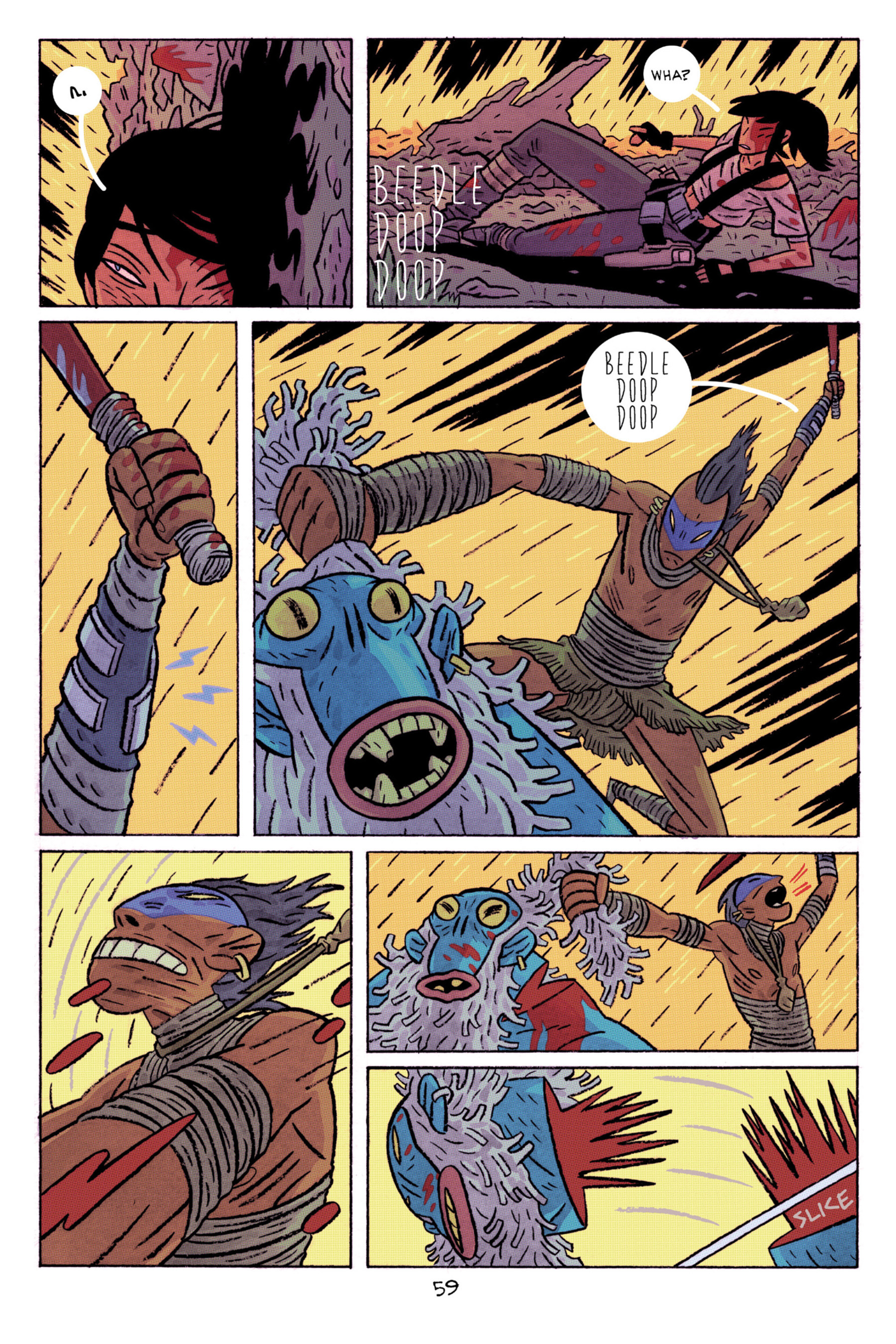 Read online ApocalyptiGirl: An Aria for the End Times comic -  Issue #ApocalyptiGirl: An Aria for the End Times Full - 67