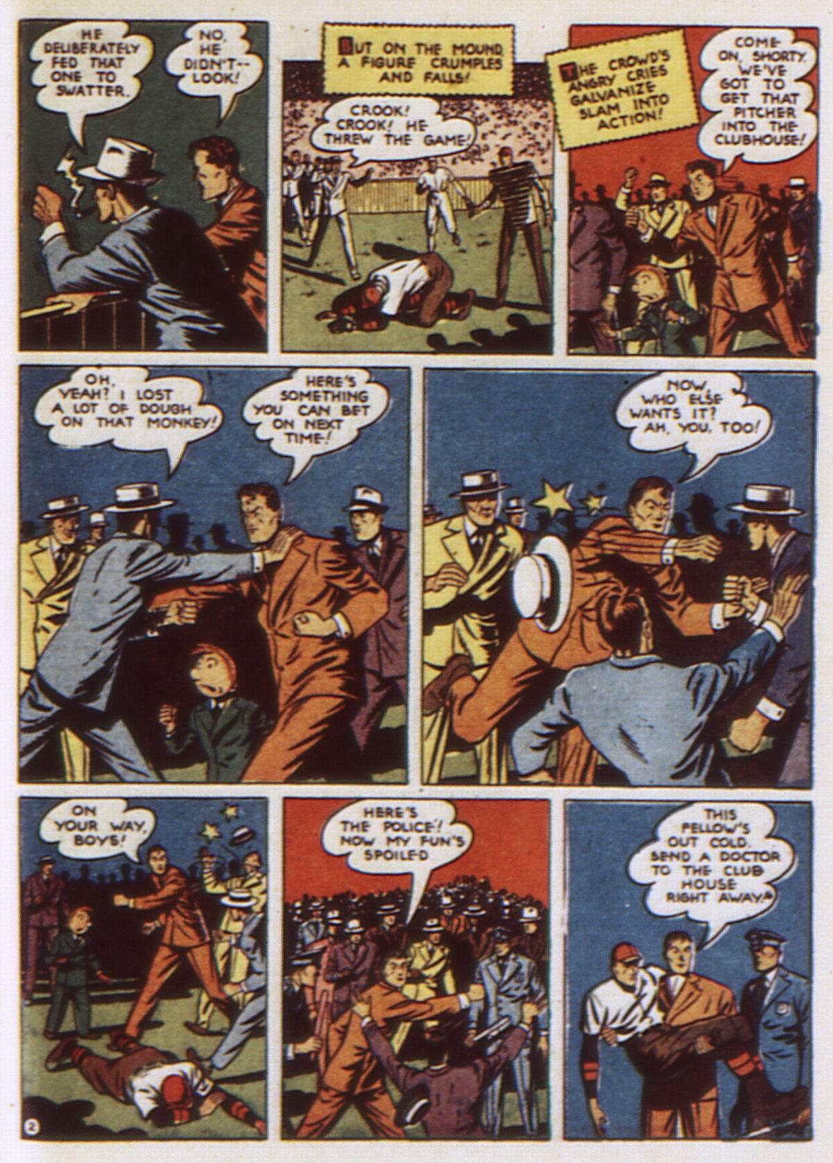 Read online Detective Comics (1937) comic -  Issue #52 - 59