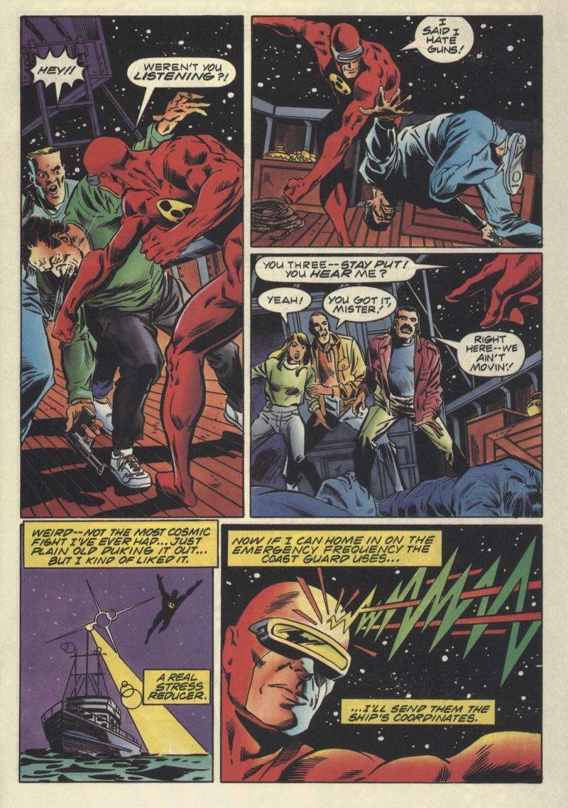 Read online Solar, Man of the Atom comic -  Issue #32 - 7
