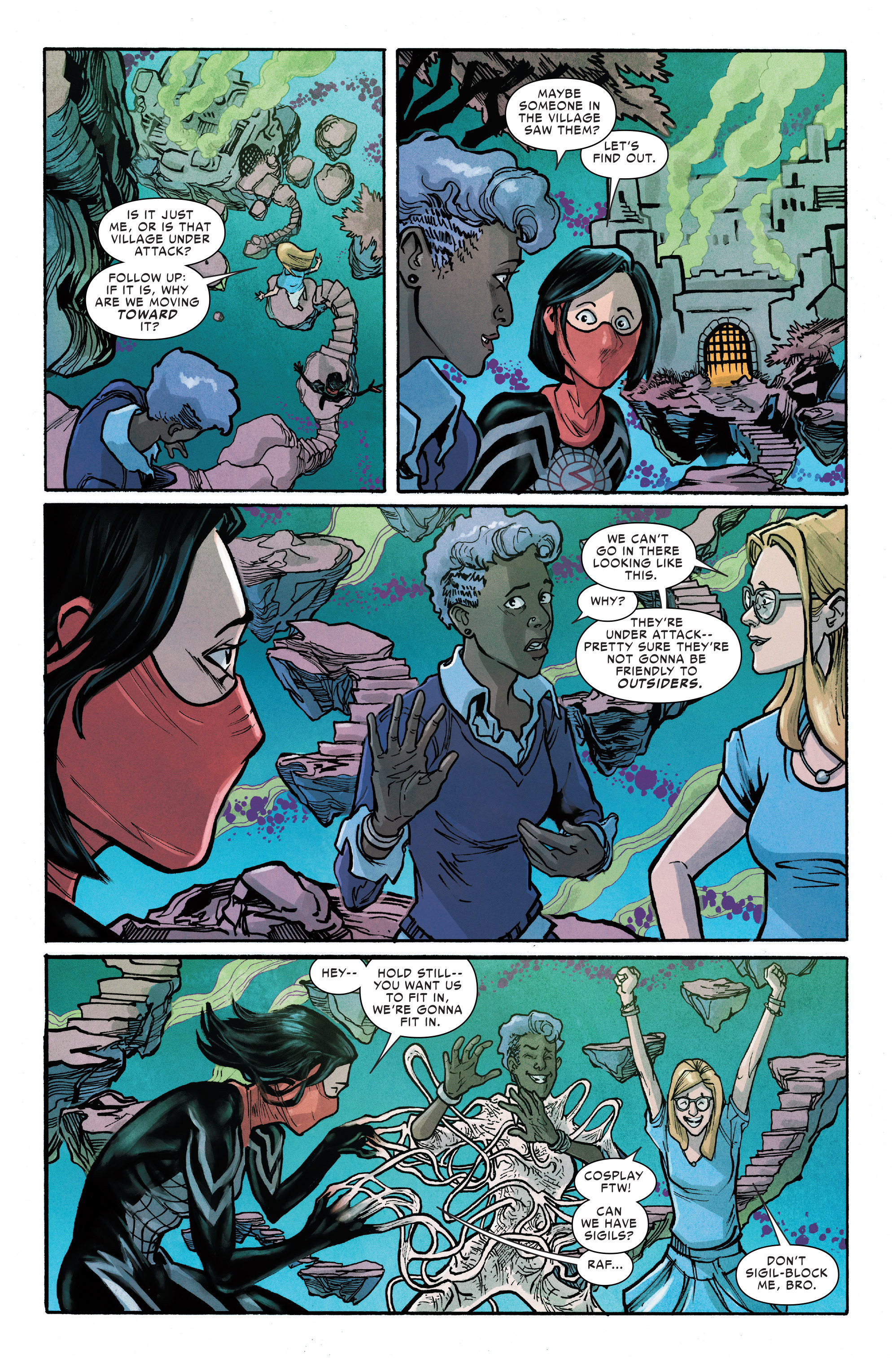 Read online Silk (2016) comic -  Issue #12 - 12