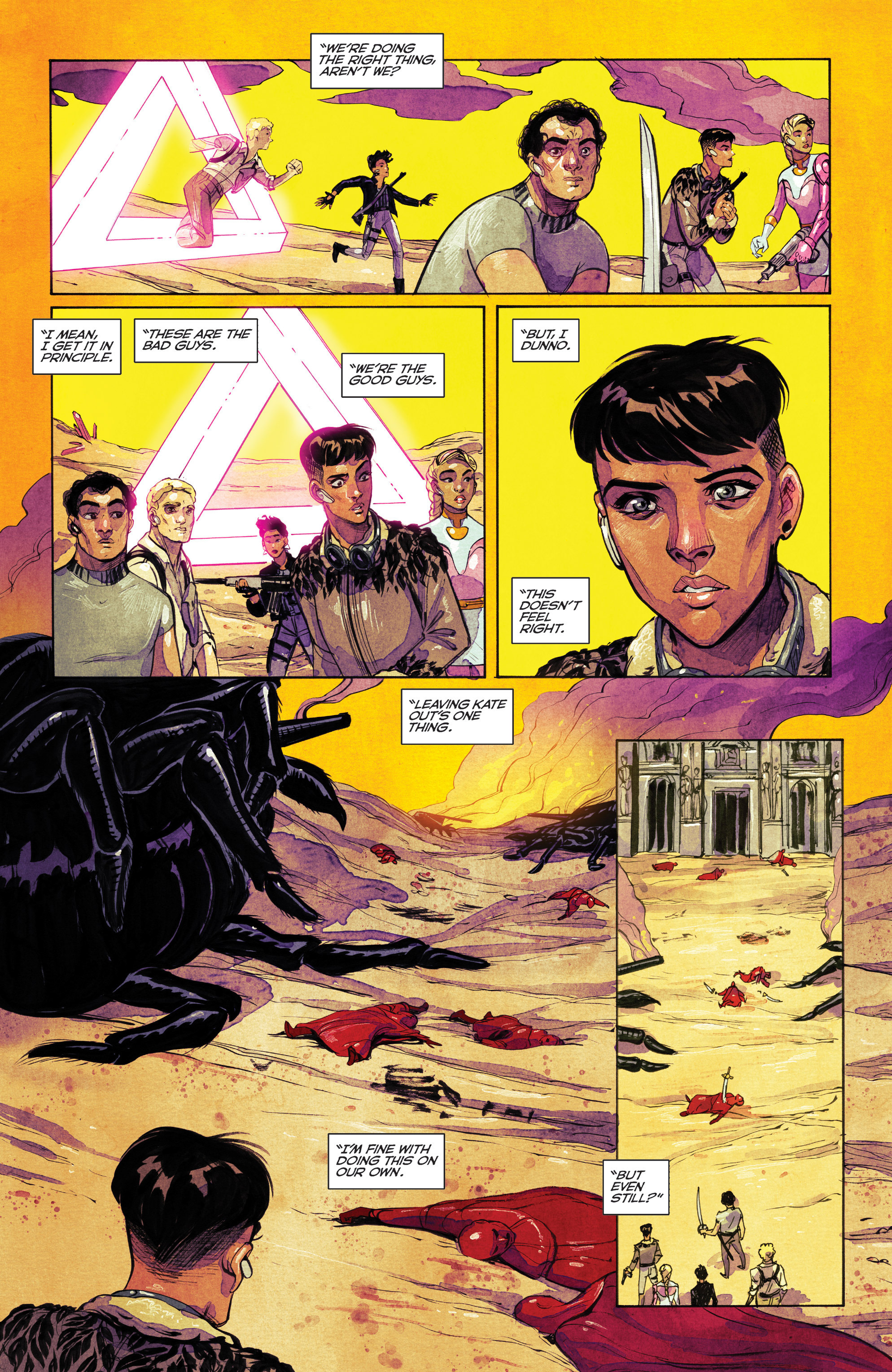 Read online Shutter comic -  Issue #25 - 17