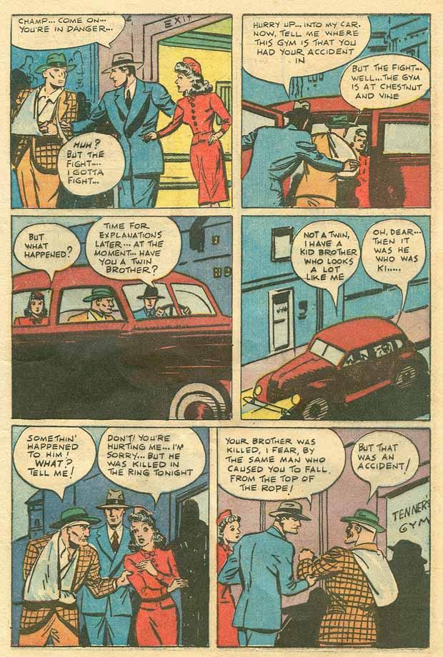 Read online Shadow Comics comic -  Issue #79 - 10