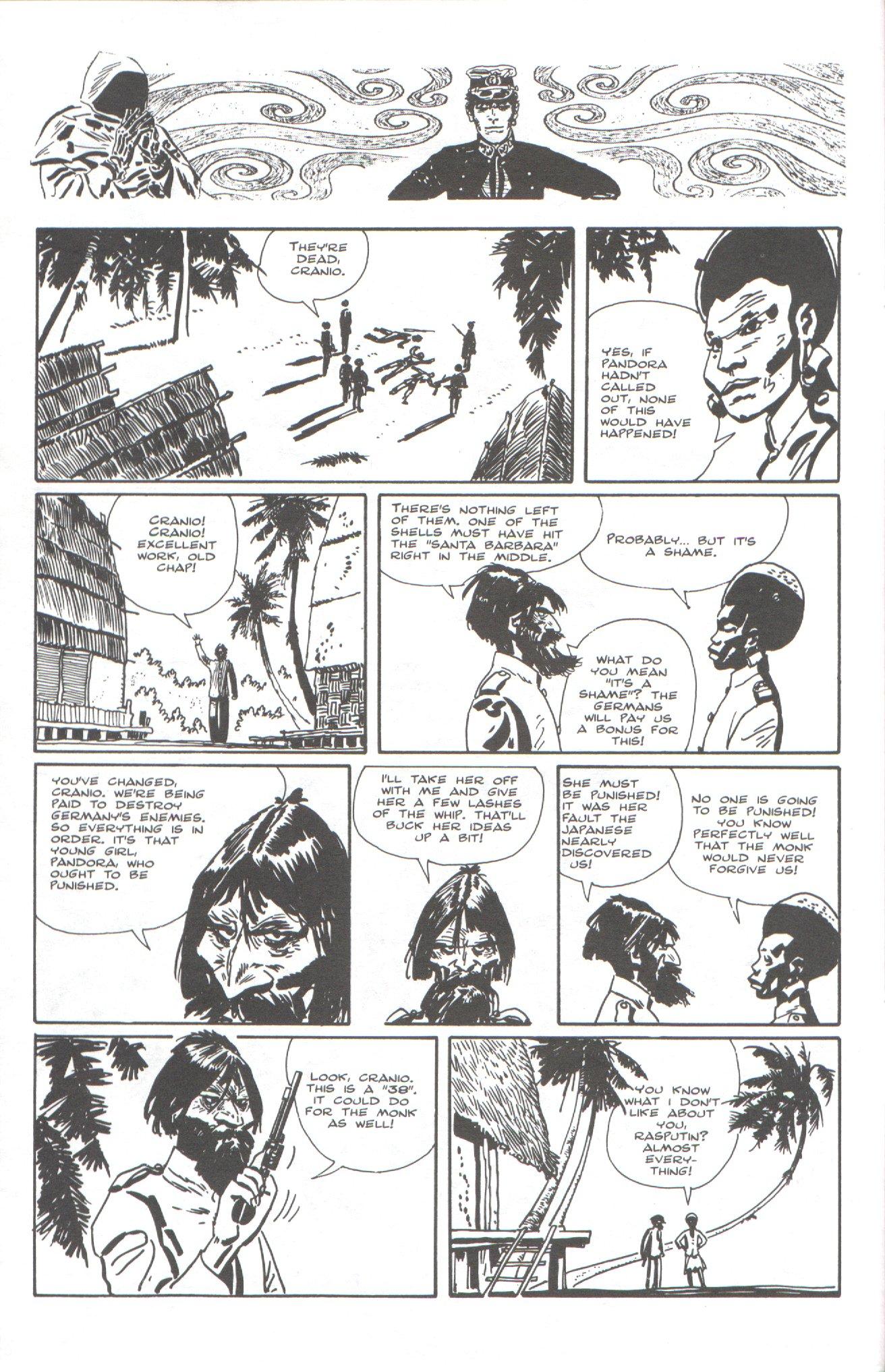 Read online Corto Maltese: Ballad of the Salt Sea comic -  Issue #5 - 10