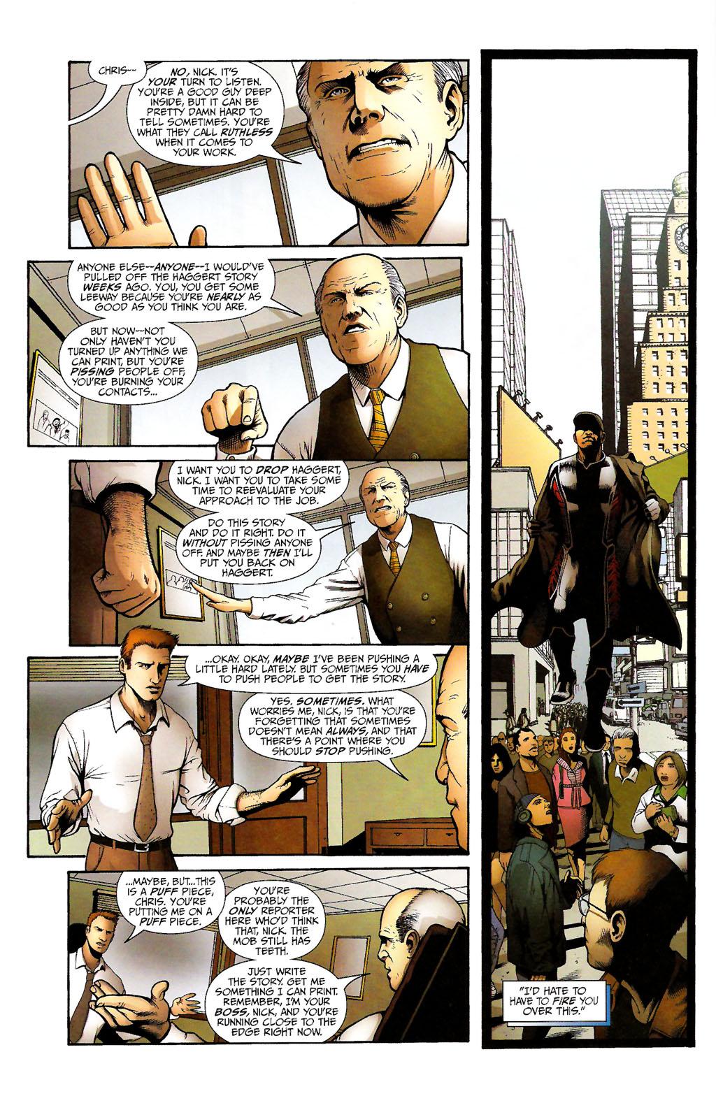 Read online ShadowHawk (2005) comic -  Issue #11 - 29