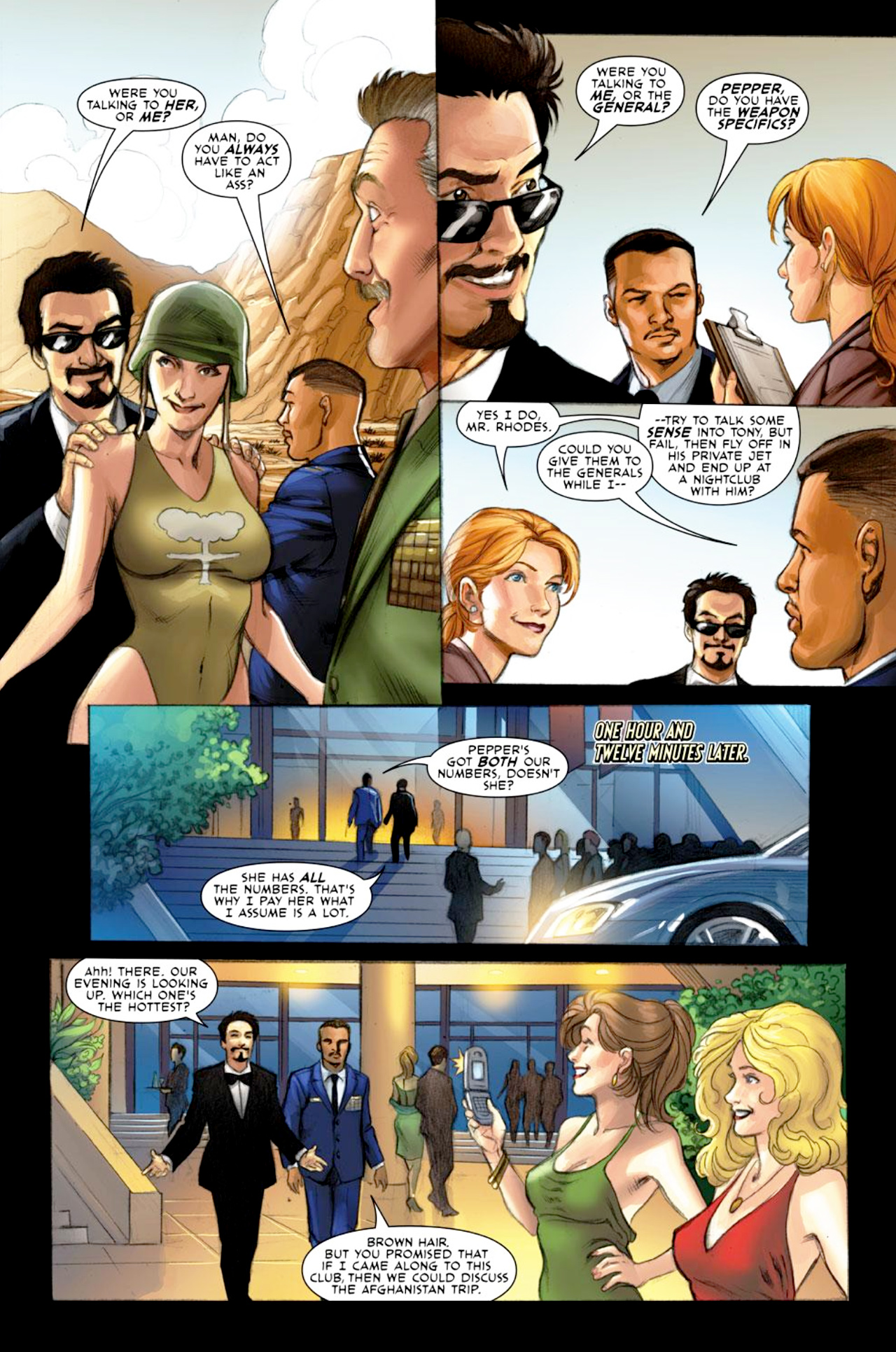 Read online Iron Man: Fast Friends comic -  Issue #1 - 3