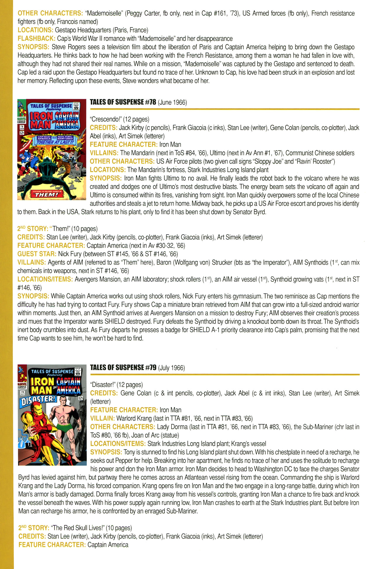 Read online Official Index to the Marvel Universe comic -  Issue #2 - 26