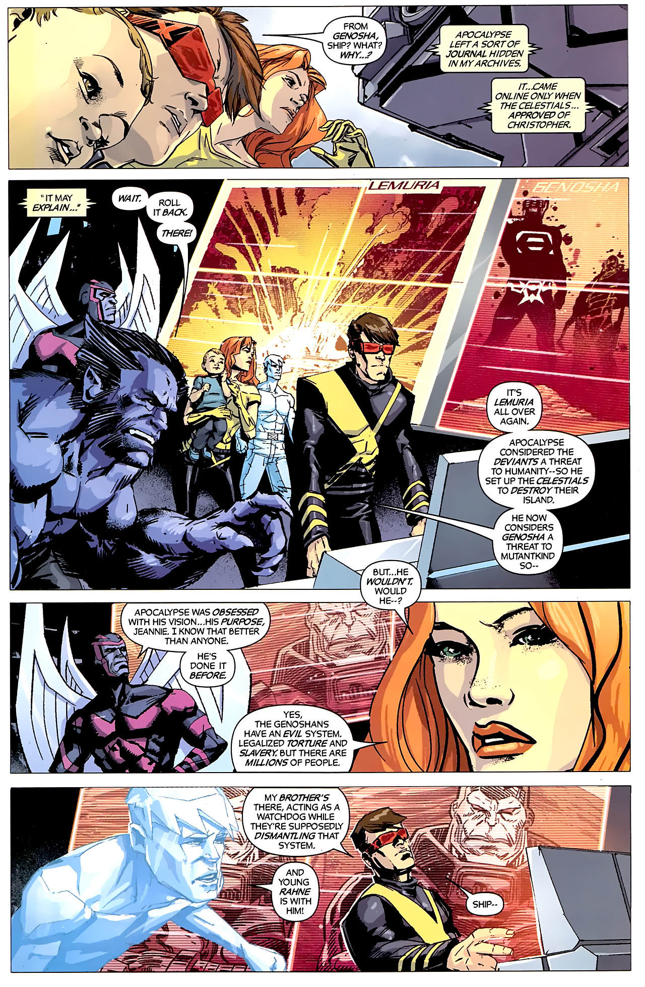 Read online X-Factor Forever comic -  Issue #5 - 13