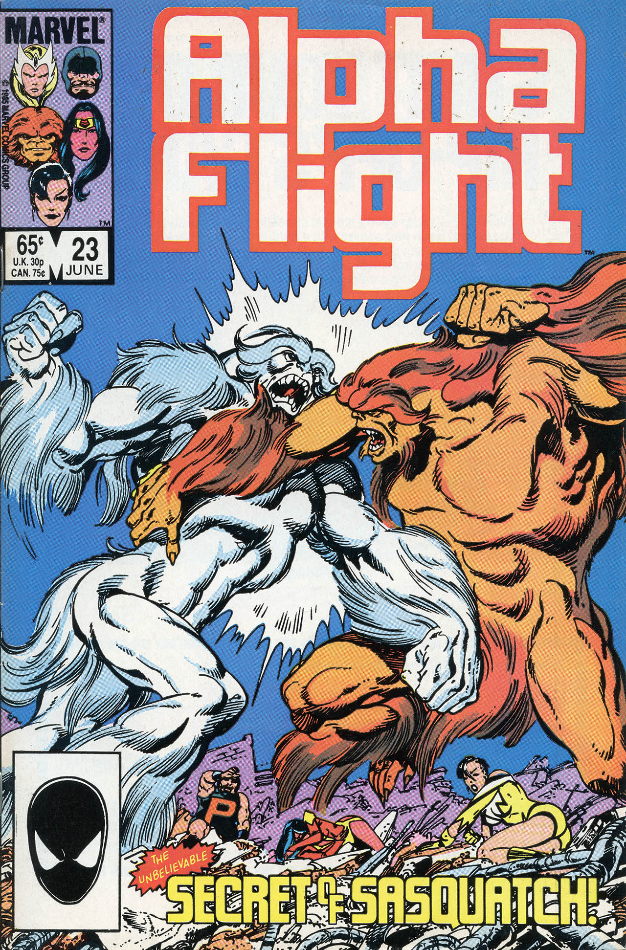 Alpha Flight (1983) 23 Page 1