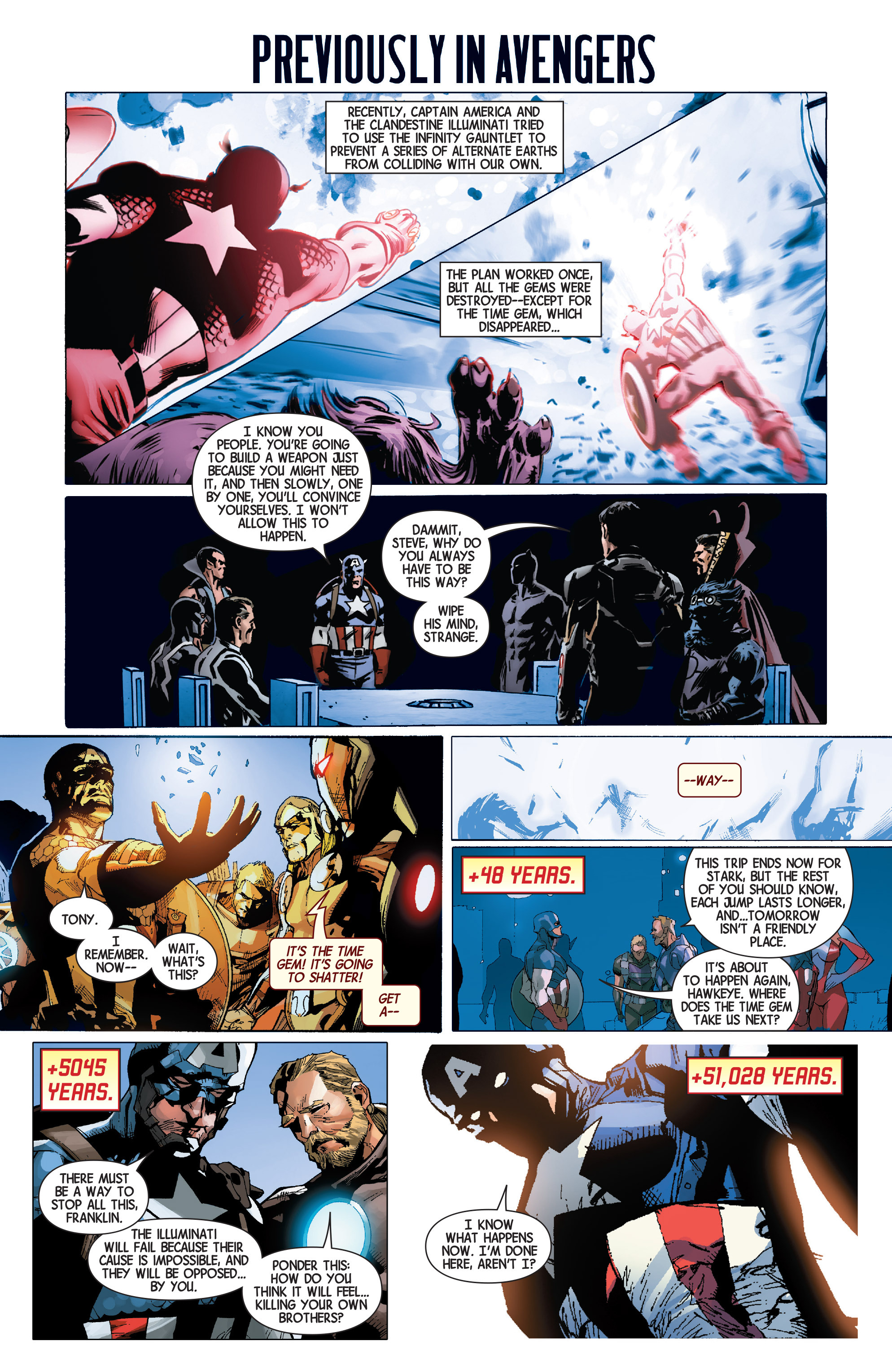 Read online Avengers (2013) comic -  Issue #Avengers (2013) _TPB 6 - 125