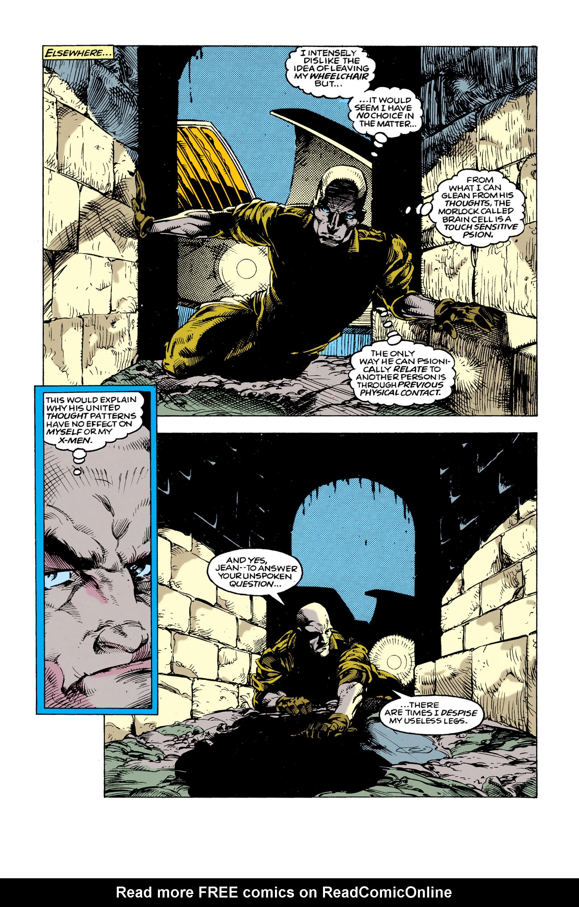 Read online Uncanny X-Men (1963) comic -  Issue #292 - 16