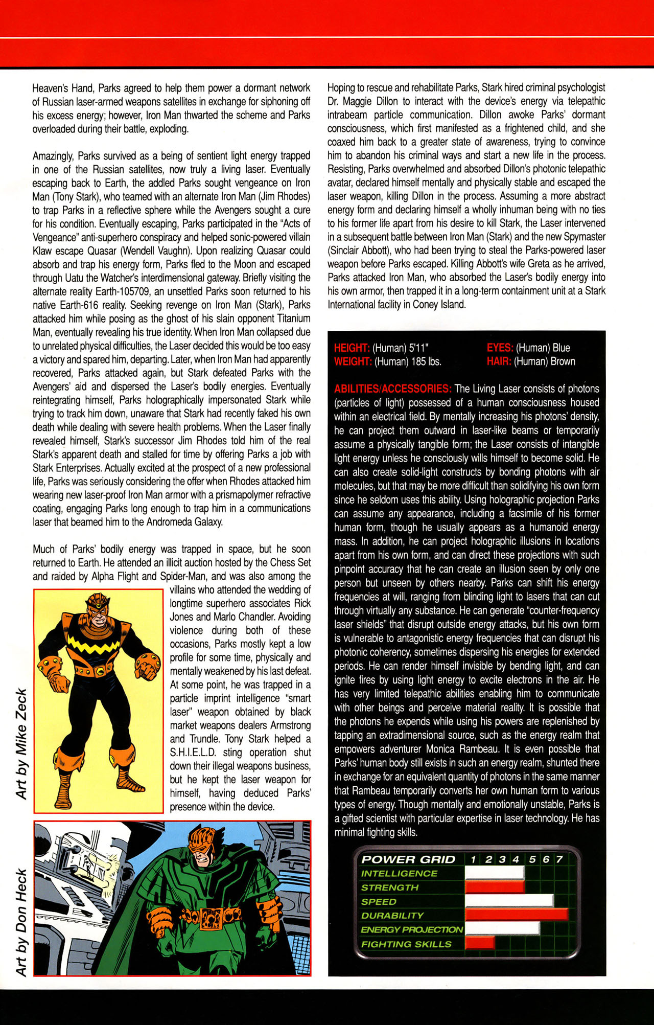 Read online All-New Official Handbook of the Marvel Universe A to Z: Update comic -  Issue #1 - 30