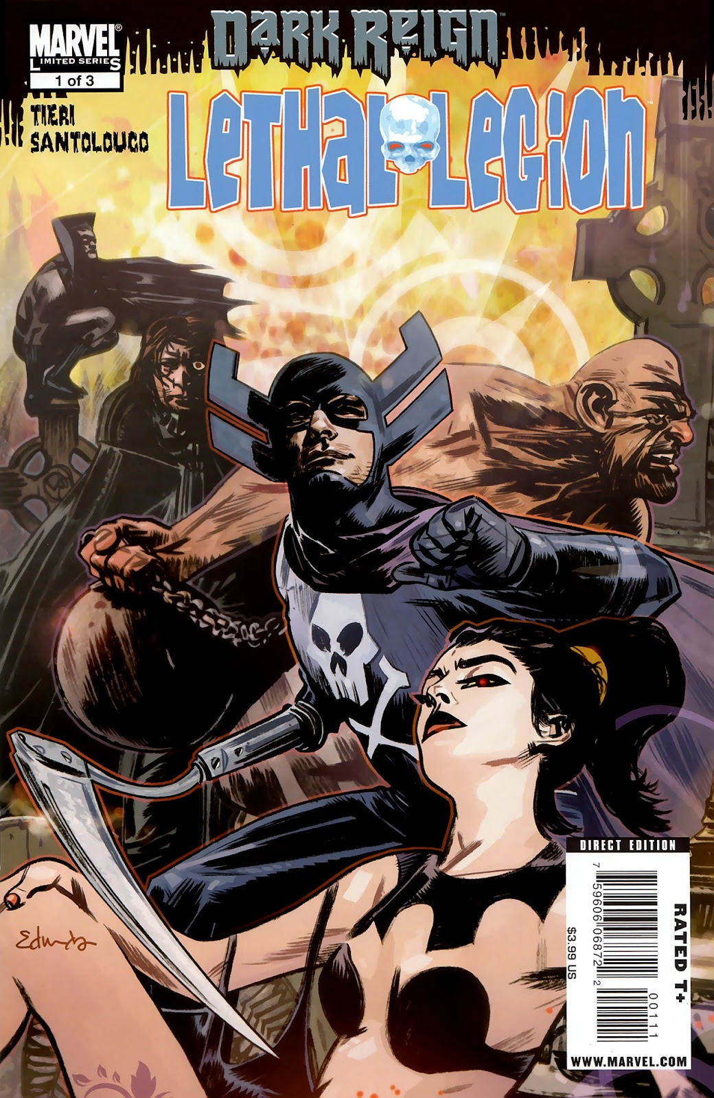 Dark Reign: Lethal Legion issue 1 - Page 1