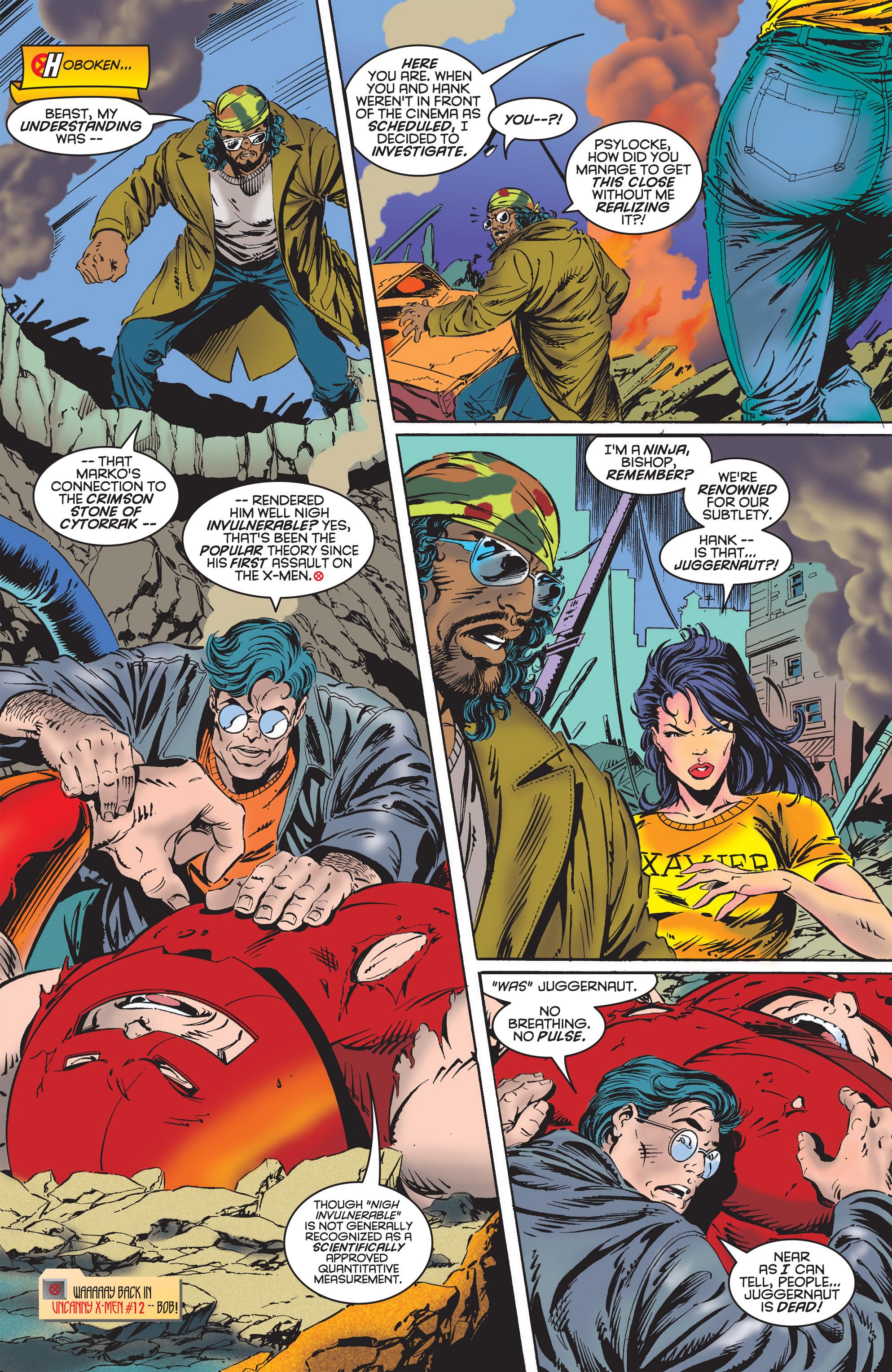 Read online Uncanny X-Men (1963) comic -  Issue #322 - 14