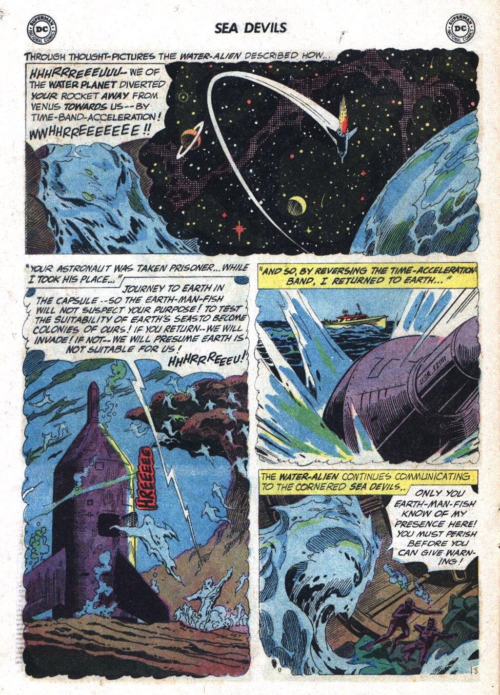 Read online Sea Devils comic -  Issue #7 - 13