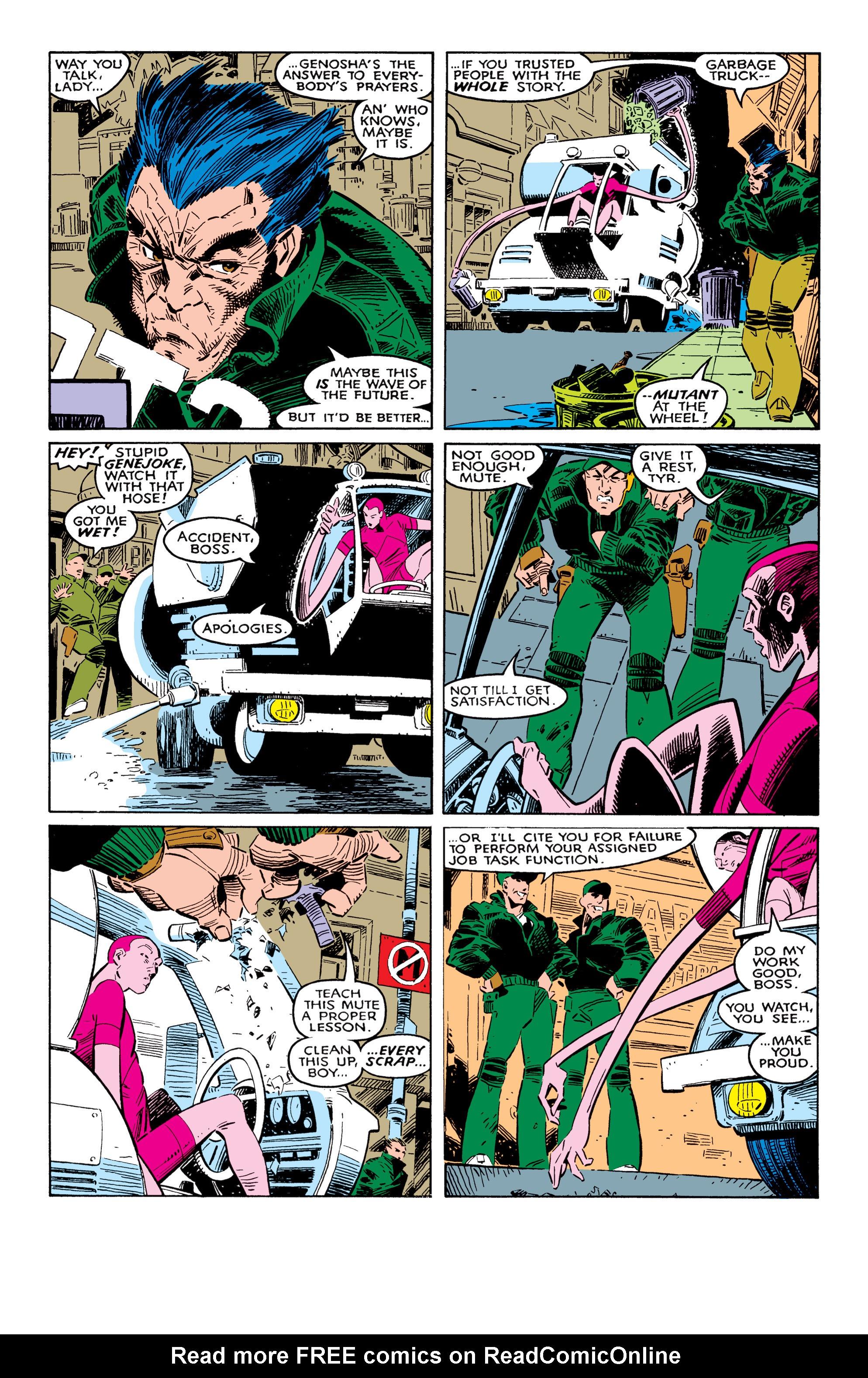 Read online Uncanny X-Men (1963) comic -  Issue #237 - 7