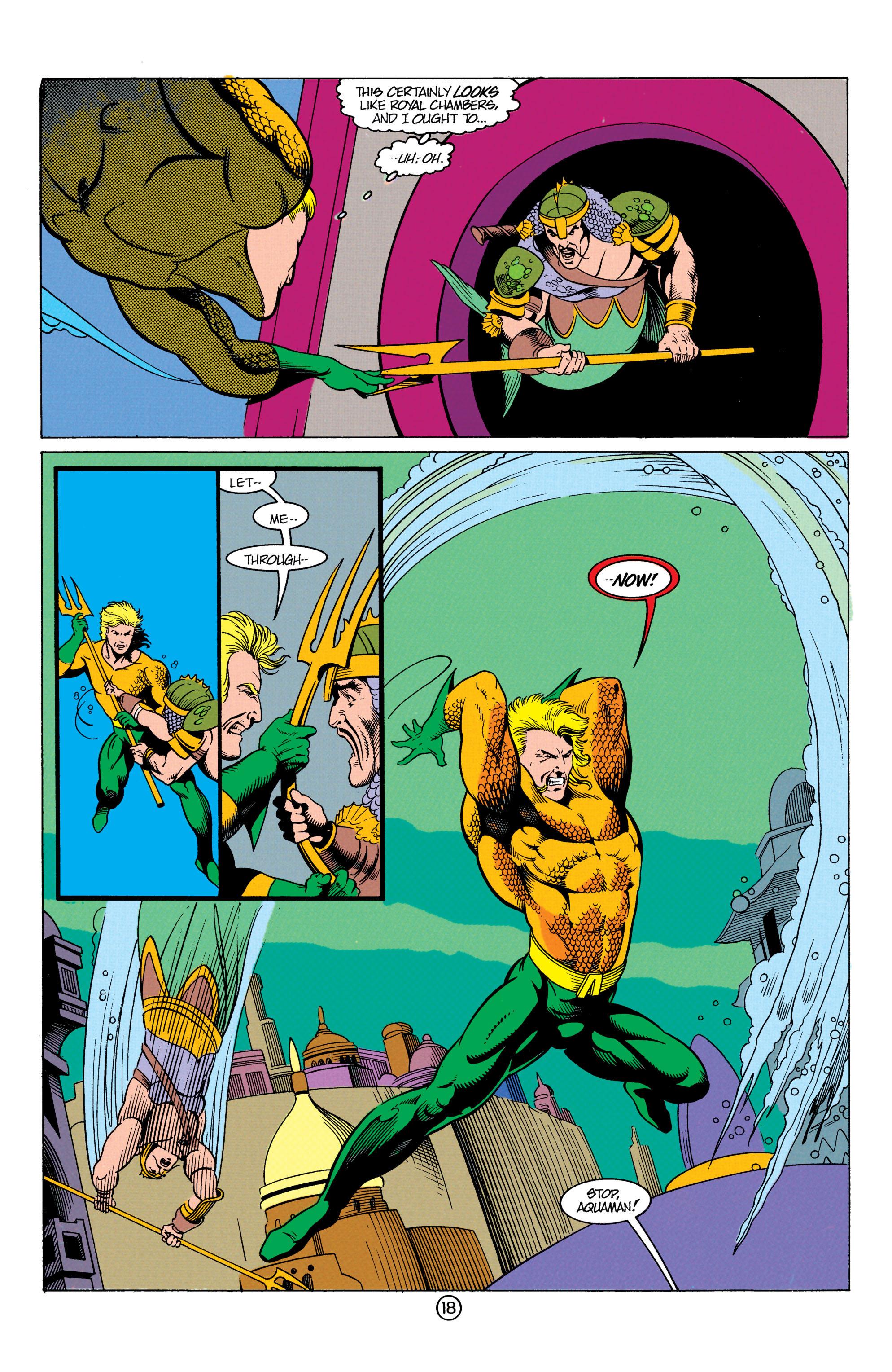Read online Aquaman (1991) comic -  Issue #12 - 18